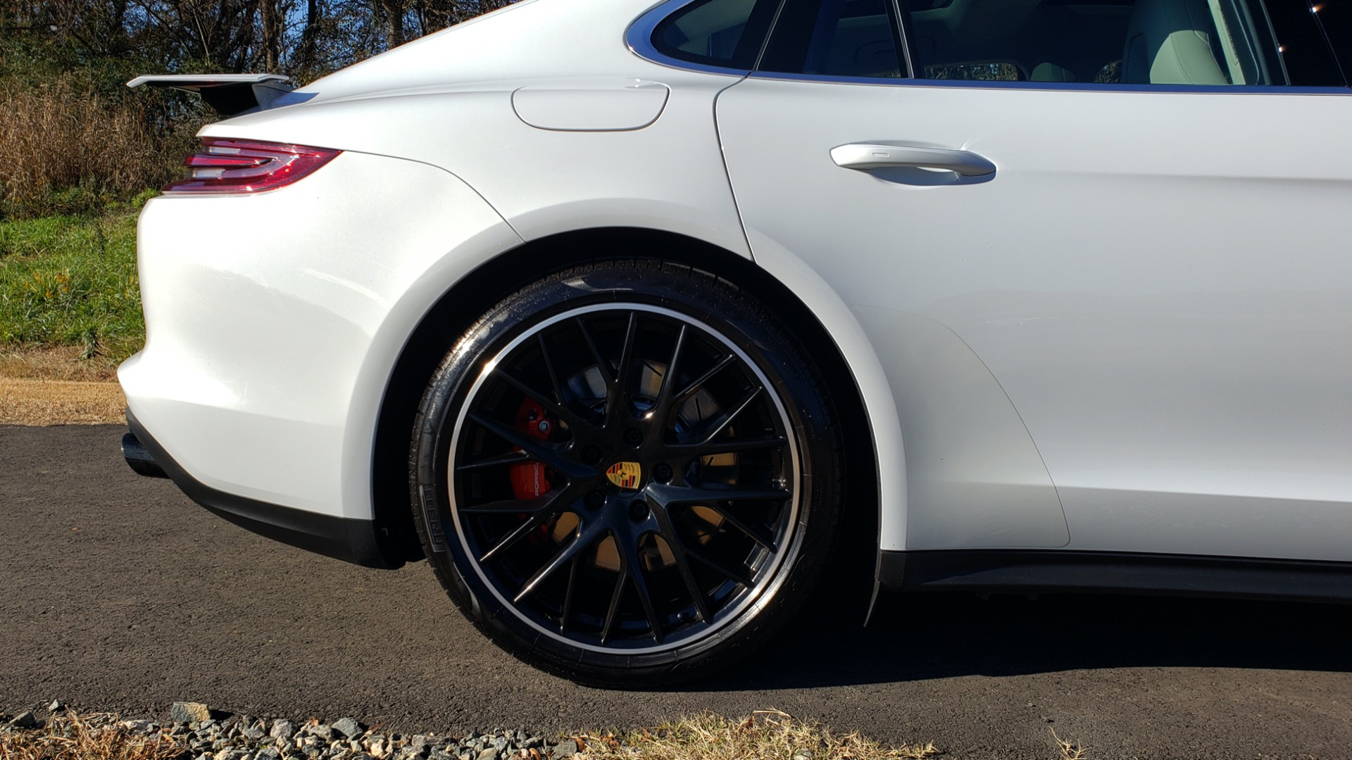 Used 2017 Porsche Panamera Turbo for sale Sold at Formula Imports in Charlotte NC 28227 90