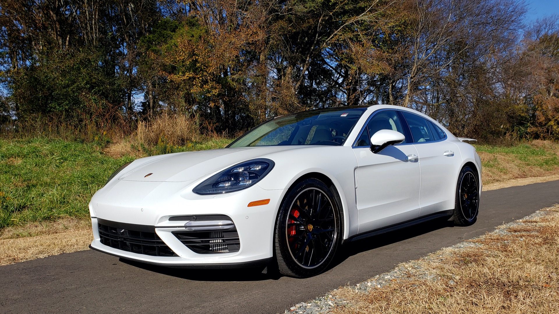 Used 2017 Porsche Panamera Turbo for sale Sold at Formula Imports in Charlotte NC 28227 1