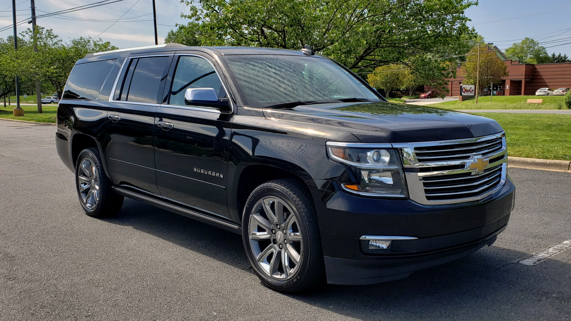 Used 2016 Chevrolet SUBURBAN LTZ 4WD / ENTERTAIN / TRAILER PKG / SNRF / NAV / CAMERA / 3-ROW for sale Sold at Formula Imports in Charlotte NC 28227 4