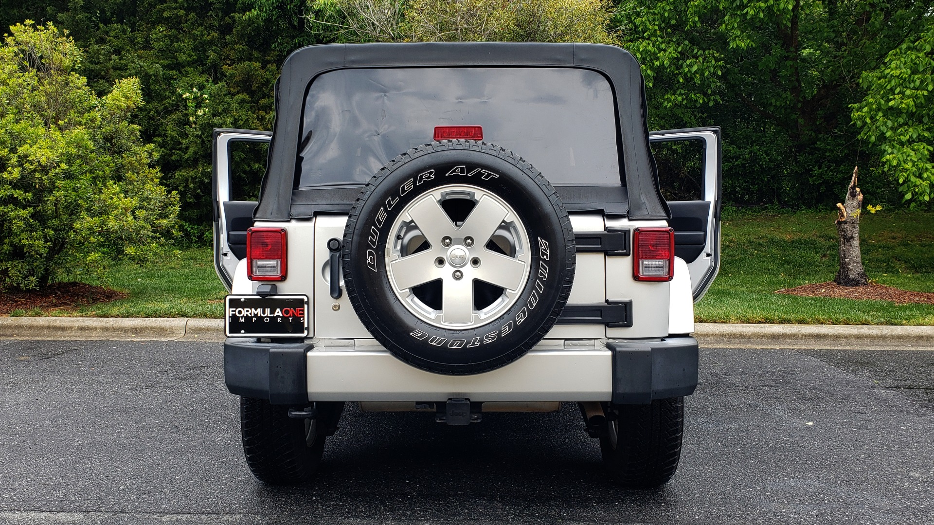Used 2011 Jeep WRANGLER UNLIMITED SAHARA 4WD / 3-PC FREEDOM TOP / 6-SPD MANUAL for sale Sold at Formula Imports in Charlotte NC 28227 28