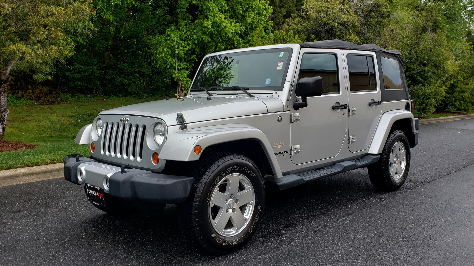 Used 2011 Jeep WRANGLER UNLIMITED SAHARA 4WD / 3-PC FREEDOM TOP / 6-SPD MANUAL for sale Sold at Formula Imports in Charlotte NC 28227 1
