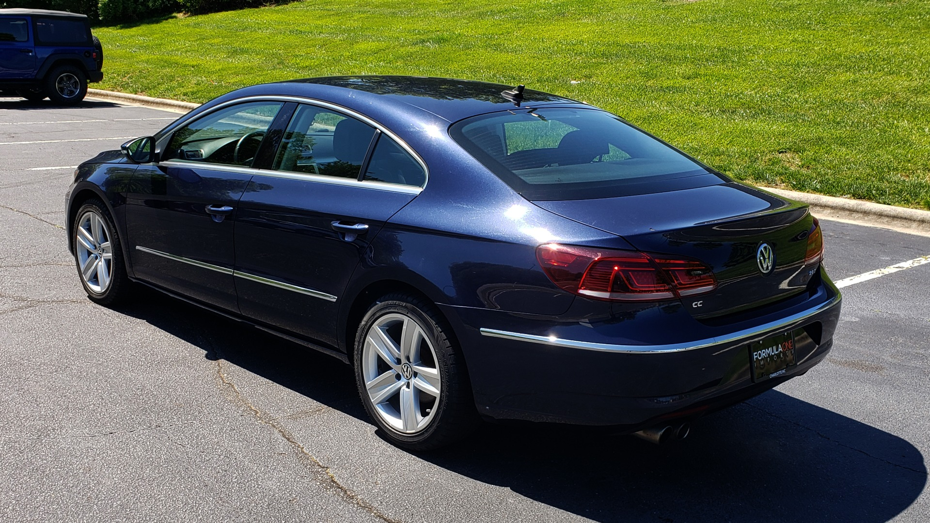 Used 2013 Volkswagen CC SPORT W/LIGHTING PKG / 2.0L 4-CYL / DSG 6-SPD AUTO for sale Sold at Formula Imports in Charlotte NC 28227 3