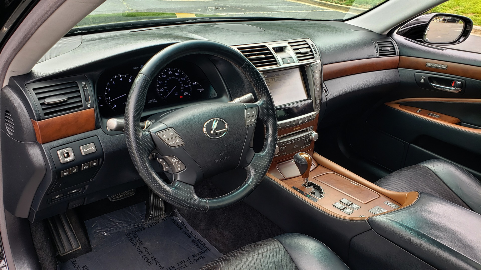 Used 2012 Lexus LS 460 COMFORT W/SPORT / VENT SEATS / NAV / MARK LEV SND / SUNROOF for sale Sold at Formula Imports in Charlotte NC 28227 36