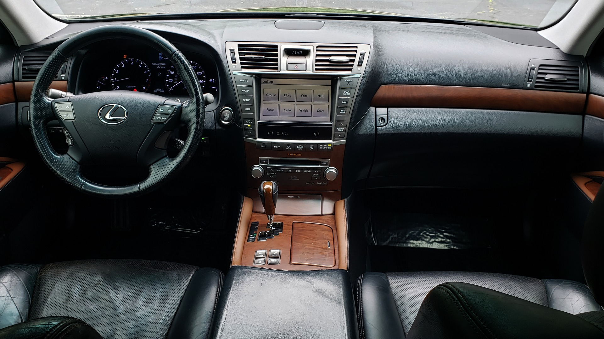 Used 2012 Lexus LS 460 COMFORT W/SPORT / VENT SEATS / NAV / MARK LEV SND / SUNROOF for sale Sold at Formula Imports in Charlotte NC 28227 85