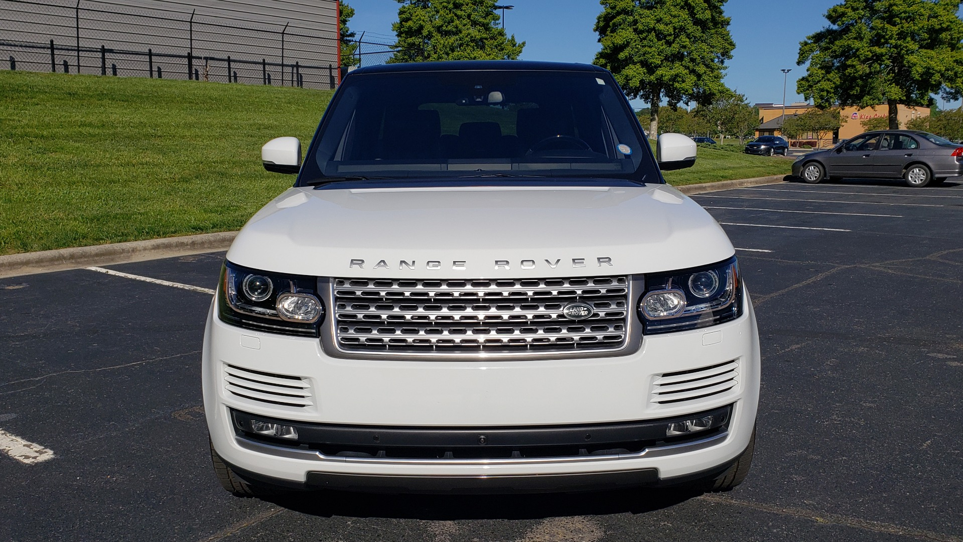 Used 2016 Land Rover RANGE ROVER HSE / NAV / VISION ASSIST / MERIDIAN / PANO-ROOF / REARVIEW for sale Sold at Formula Imports in Charlotte NC 28227 24