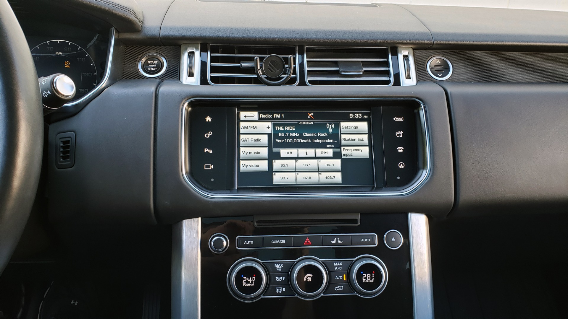 Used 2016 Land Rover RANGE ROVER HSE / AWD / SC V6 / NAV / VISION ASST / PANO-ROOF / BSM for sale $47,495 at Formula Imports in Charlotte NC 28227 44