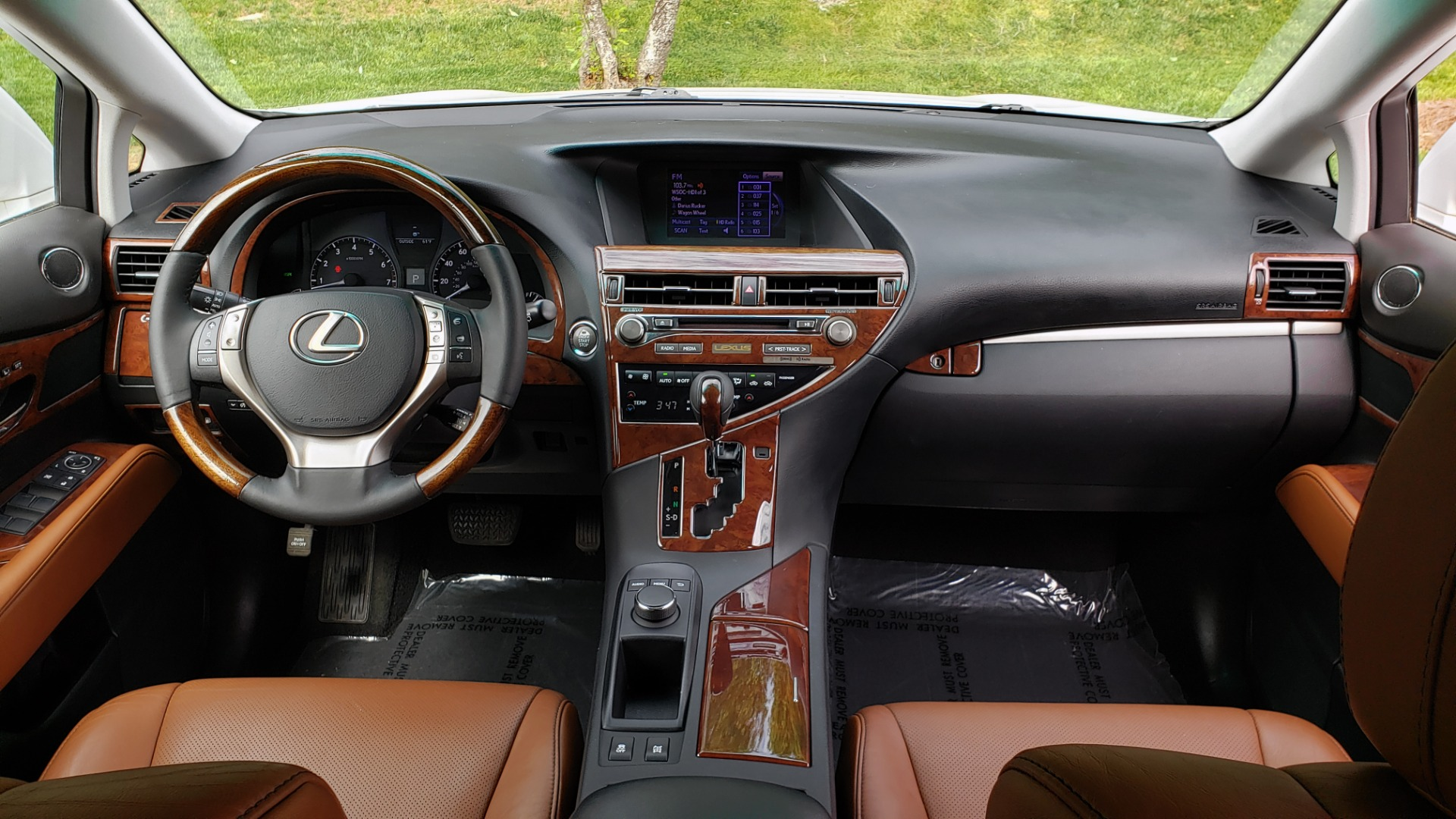 Used 2013 Lexus RX 350 PREMIUM PKG / SUNROOF / BSM / PARK ASST / REARVIEW for sale Sold at Formula Imports in Charlotte NC 28227 77