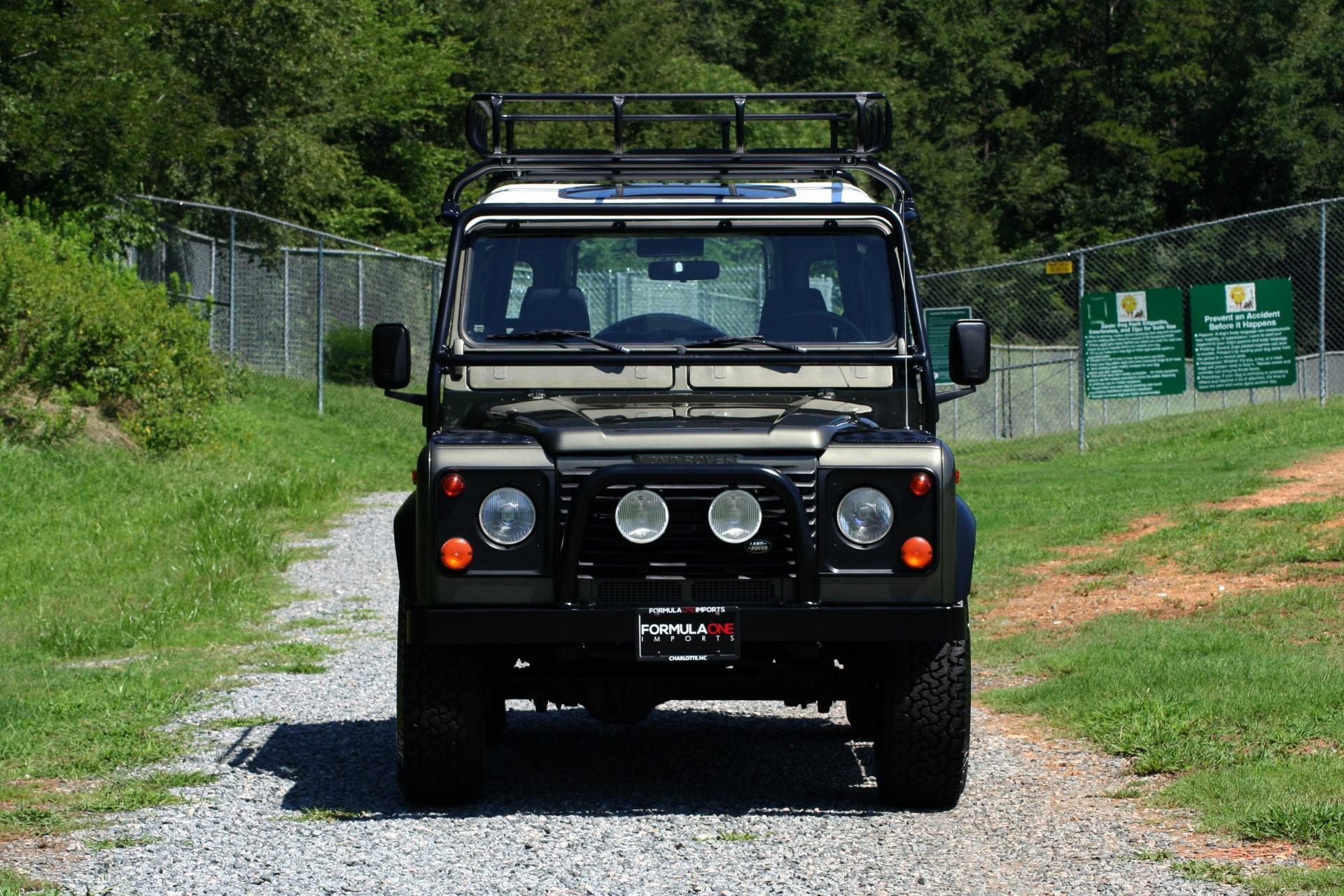 Used 1997 Land Rover DEFENDER 90 LIMITED EDITION 4X4 HARD-TOP for sale $139,999 at Formula Imports in Charlotte NC 28227 14