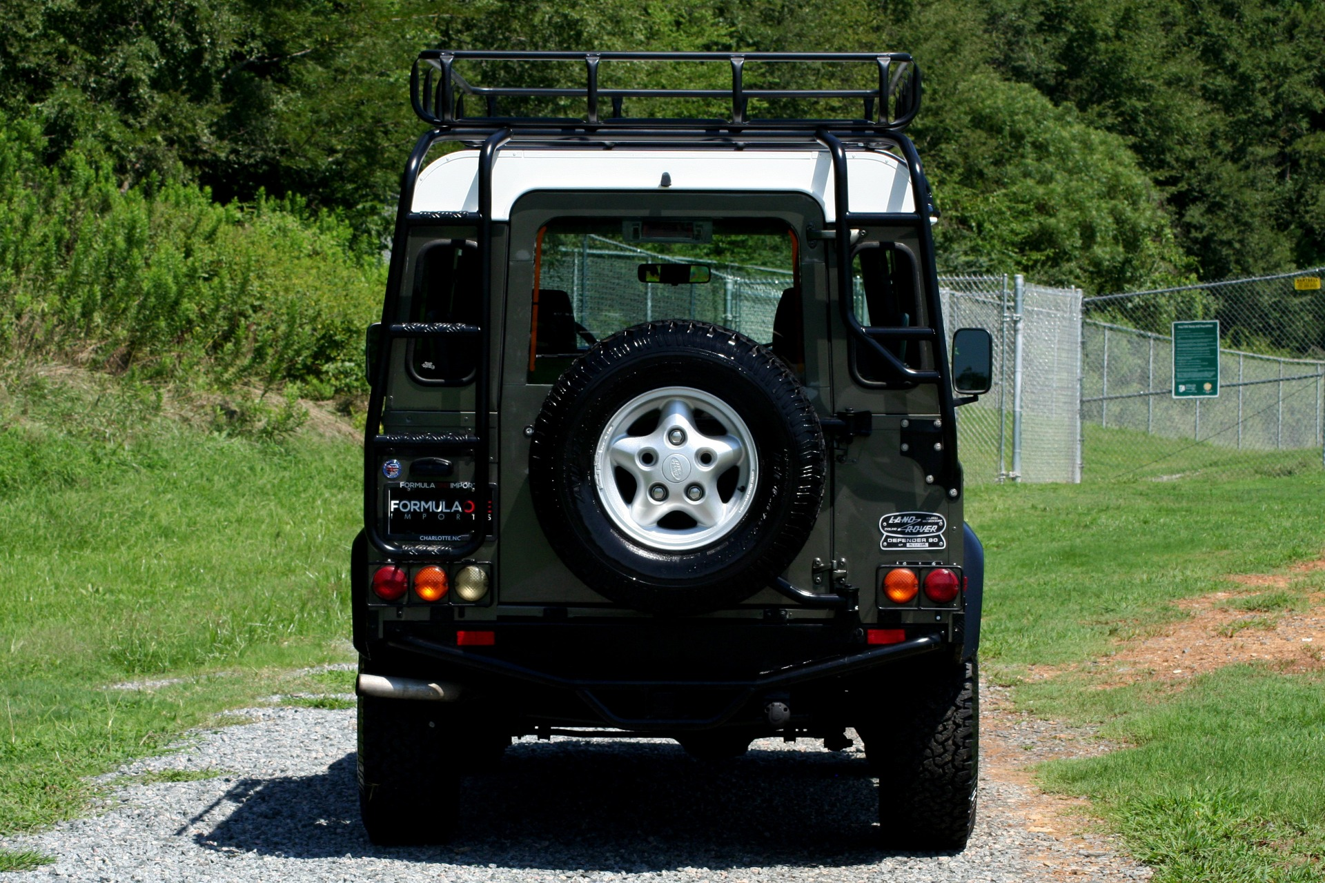 Used 1997 Land Rover Defender 90 for sale Sold at Formula Imports in Charlotte NC 28227 15