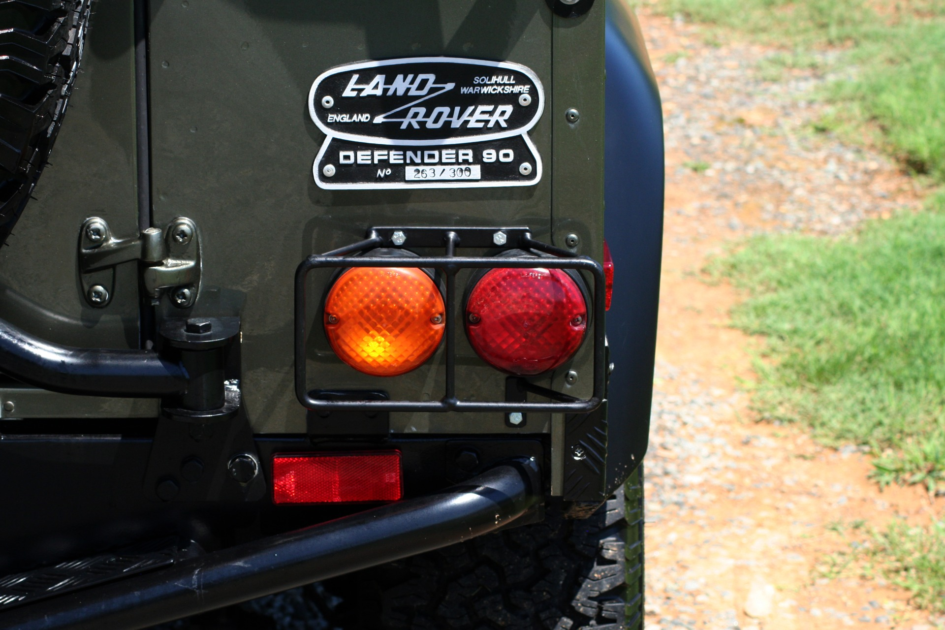 Used 1997 Land Rover DEFENDER 90 LIMITED EDITION 4X4 HARD-TOP for sale $139,999 at Formula Imports in Charlotte NC 28227 21
