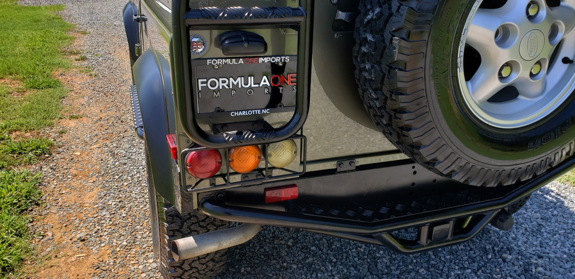 Used 1997 Land Rover Defender 90 for sale Sold at Formula Imports in Charlotte NC 28227 24