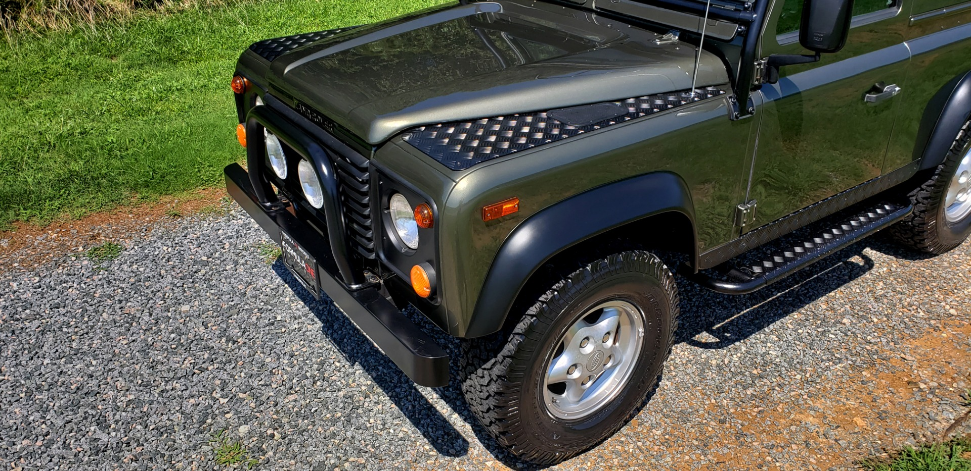 Used 1997 Land Rover DEFENDER 90 LIMITED EDITION 4X4 HARD-TOP for sale $139,999 at Formula Imports in Charlotte NC 28227 28