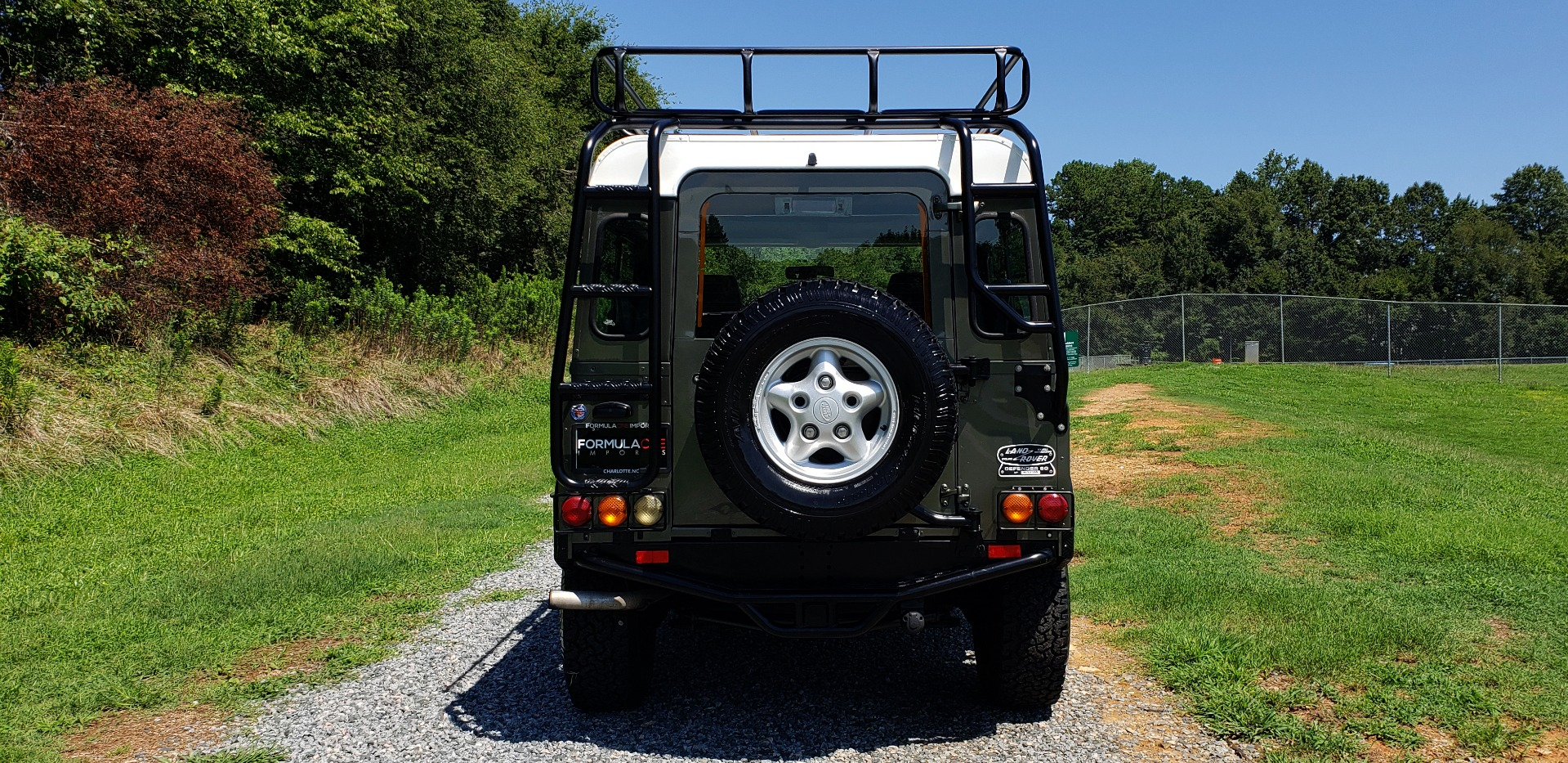 Used 1997 Land Rover DEFENDER 90 LIMITED EDITION 4X4 HARD-TOP for sale $139,999 at Formula Imports in Charlotte NC 28227 32