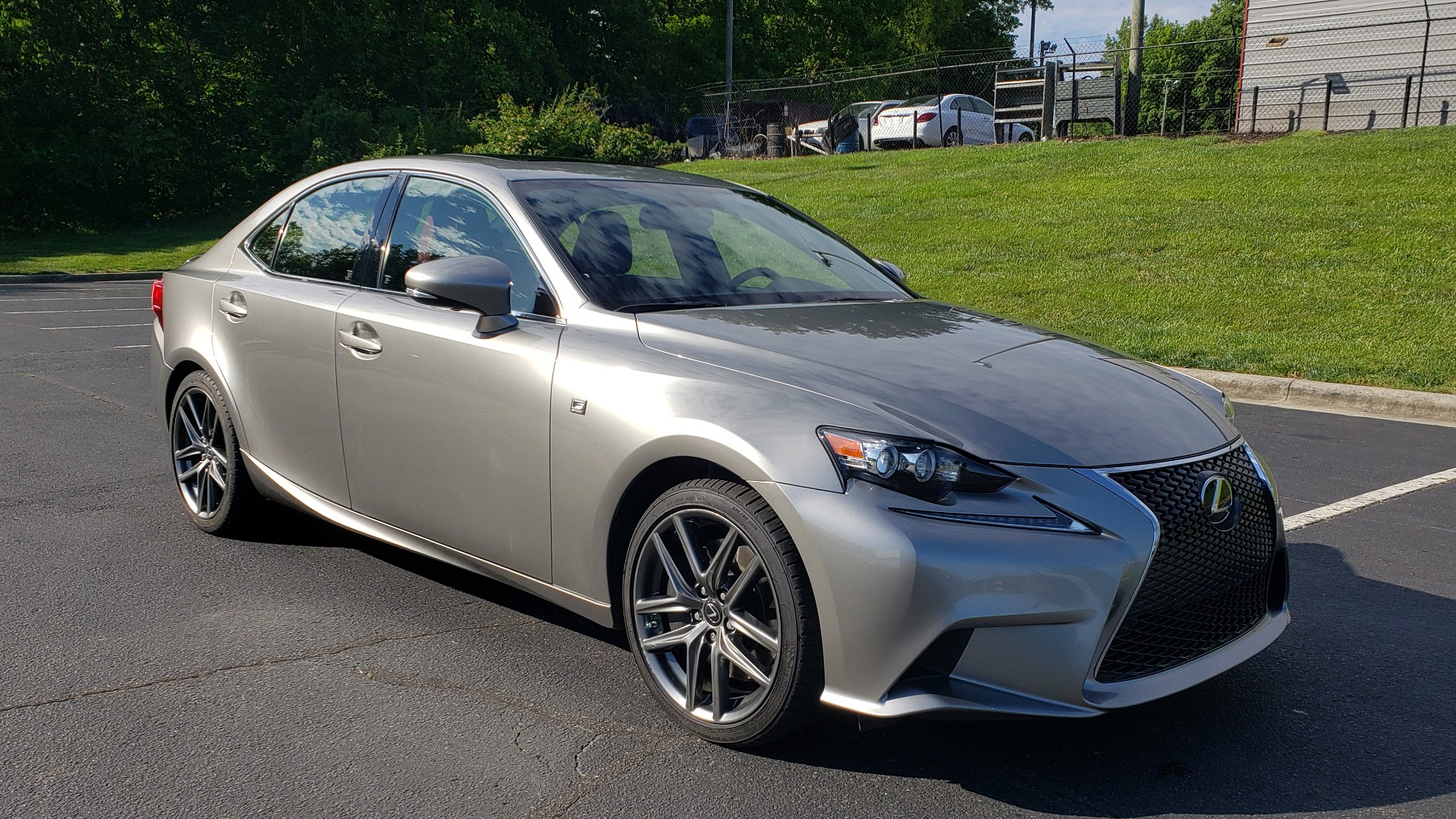 Used 2016 Lexus IS 300 F-SPORT / SUNROOF / BSM / VENTILATED SEATS / REARVIEW for sale Sold at Formula Imports in Charlotte NC 28227 4