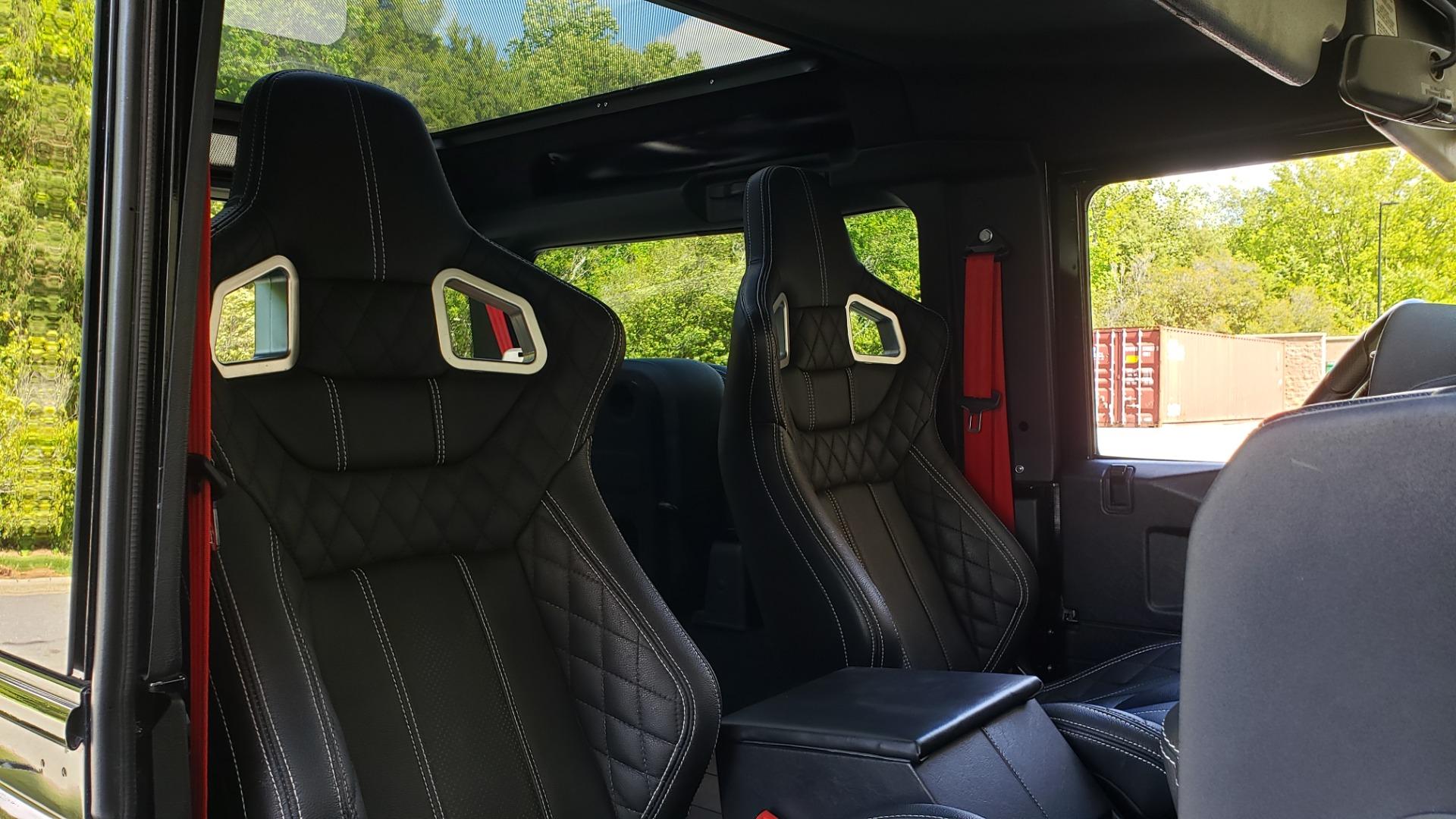 Used 1985 Land Rover DEFENDER 90 4X4 CUSTOM RESTORED 5.3L LS V8 for sale Sold at Formula Imports in Charlotte NC 28227 44