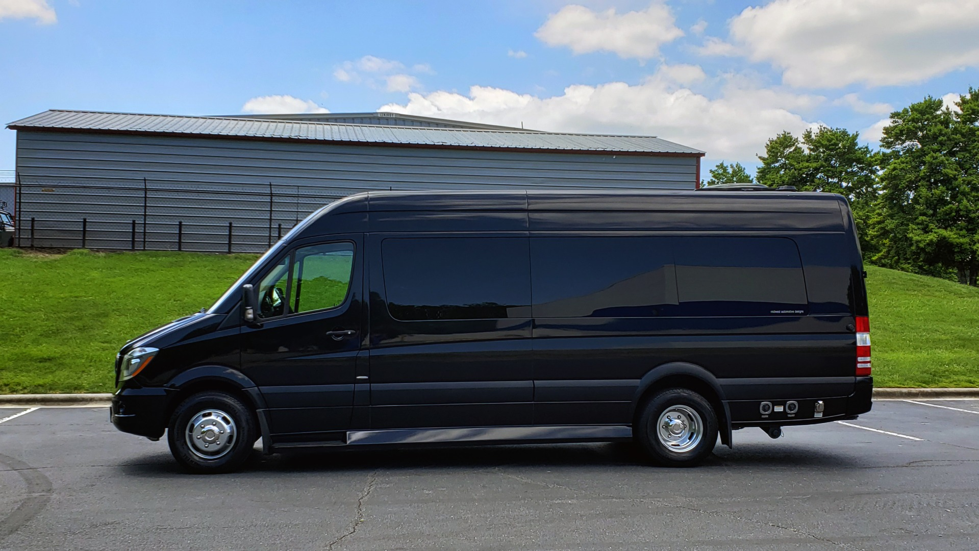 Used 2015 Mercedes-Benz SPRINTER CARGO VAN EXT 3500 170-IN WB / MIDWEST LUXURY CONVERSION for sale $84,995 at Formula Imports in Charlotte NC 28227 2