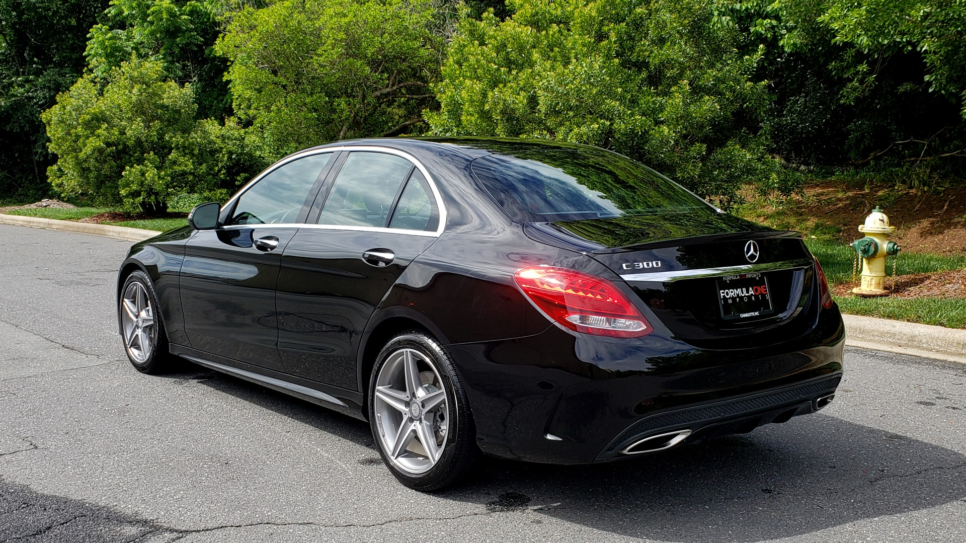 Used 2016 Mercedes-Benz C-CLASS C300 SPORT / PREM PKG / NAV / PANO-ROOF / REARVIEW / KEYLESS-GO for sale Sold at Formula Imports in Charlotte NC 28227 3