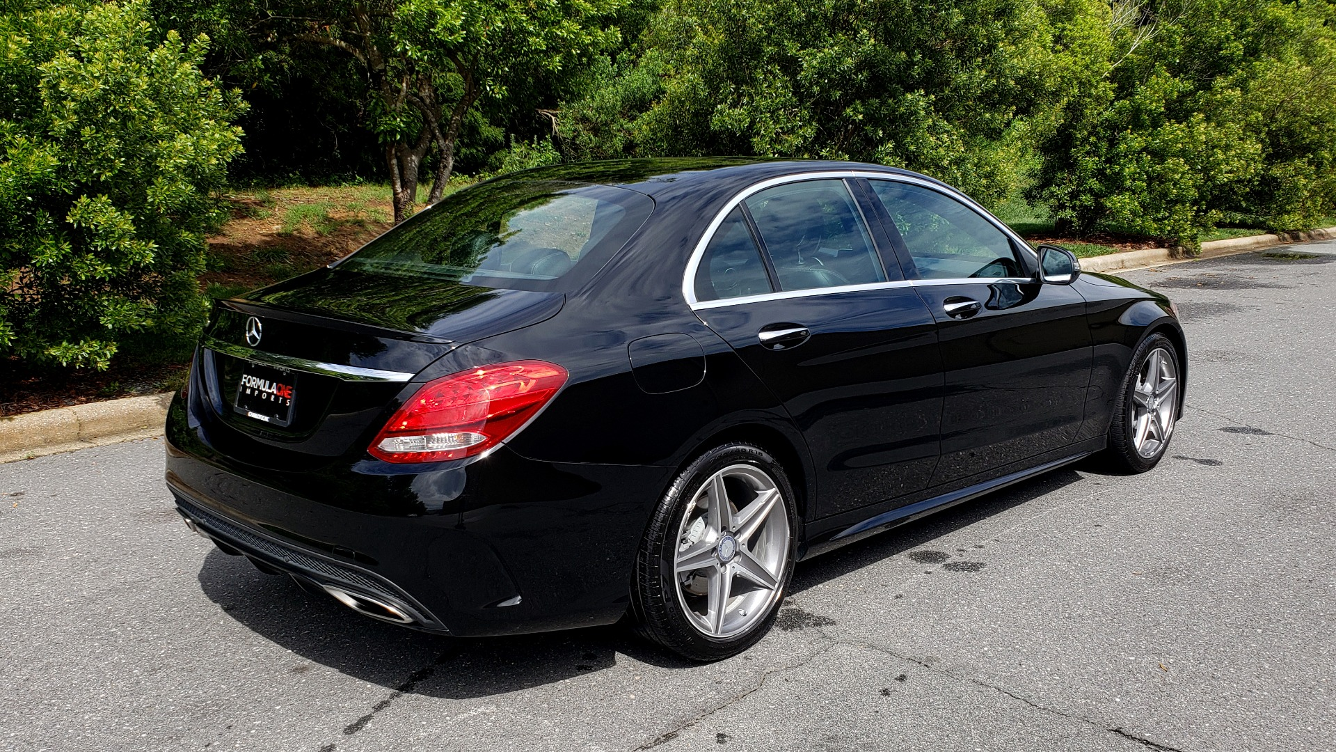 Used 2016 Mercedes-Benz C-CLASS C300 SPORT / PREM PKG / NAV / PANO-ROOF / REARVIEW / KEYLESS-GO for sale Sold at Formula Imports in Charlotte NC 28227 9