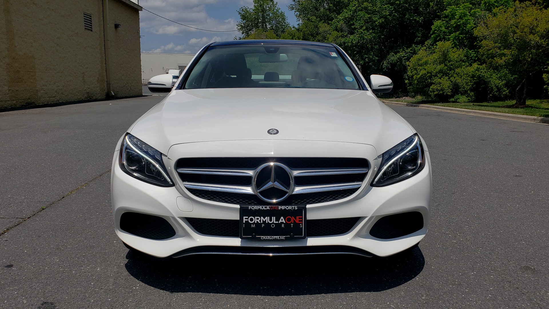 Used 2016 Mercedes-Benz C-CLASS C 300 4MATIC PREMIUM / PANO-ROOF / MULTI MEDIA PKG / REARVIEW for sale Sold at Formula Imports in Charlotte NC 28227 17