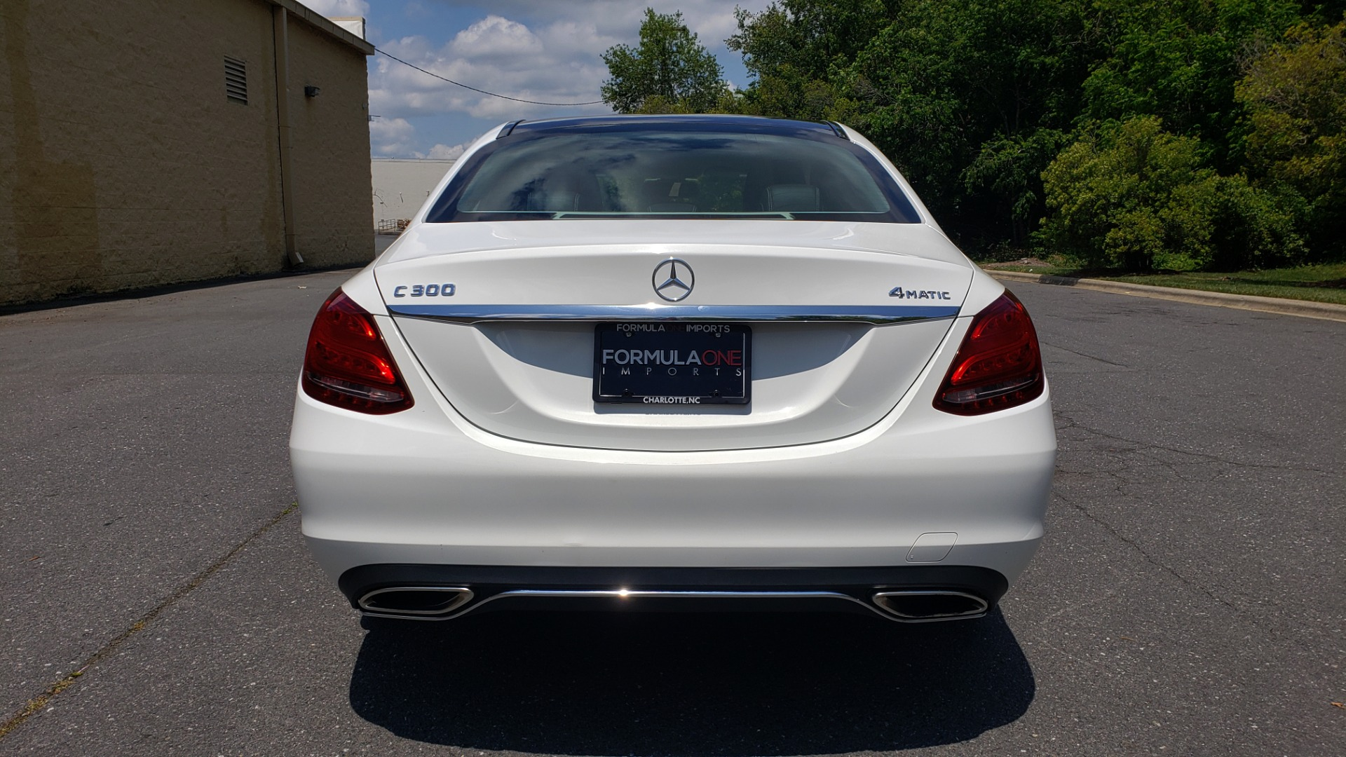 Used 2016 Mercedes-Benz C-CLASS C 300 4MATIC PREMIUM / PANO-ROOF / MULTI MEDIA PKG / REARVIEW for sale Sold at Formula Imports in Charlotte NC 28227 25