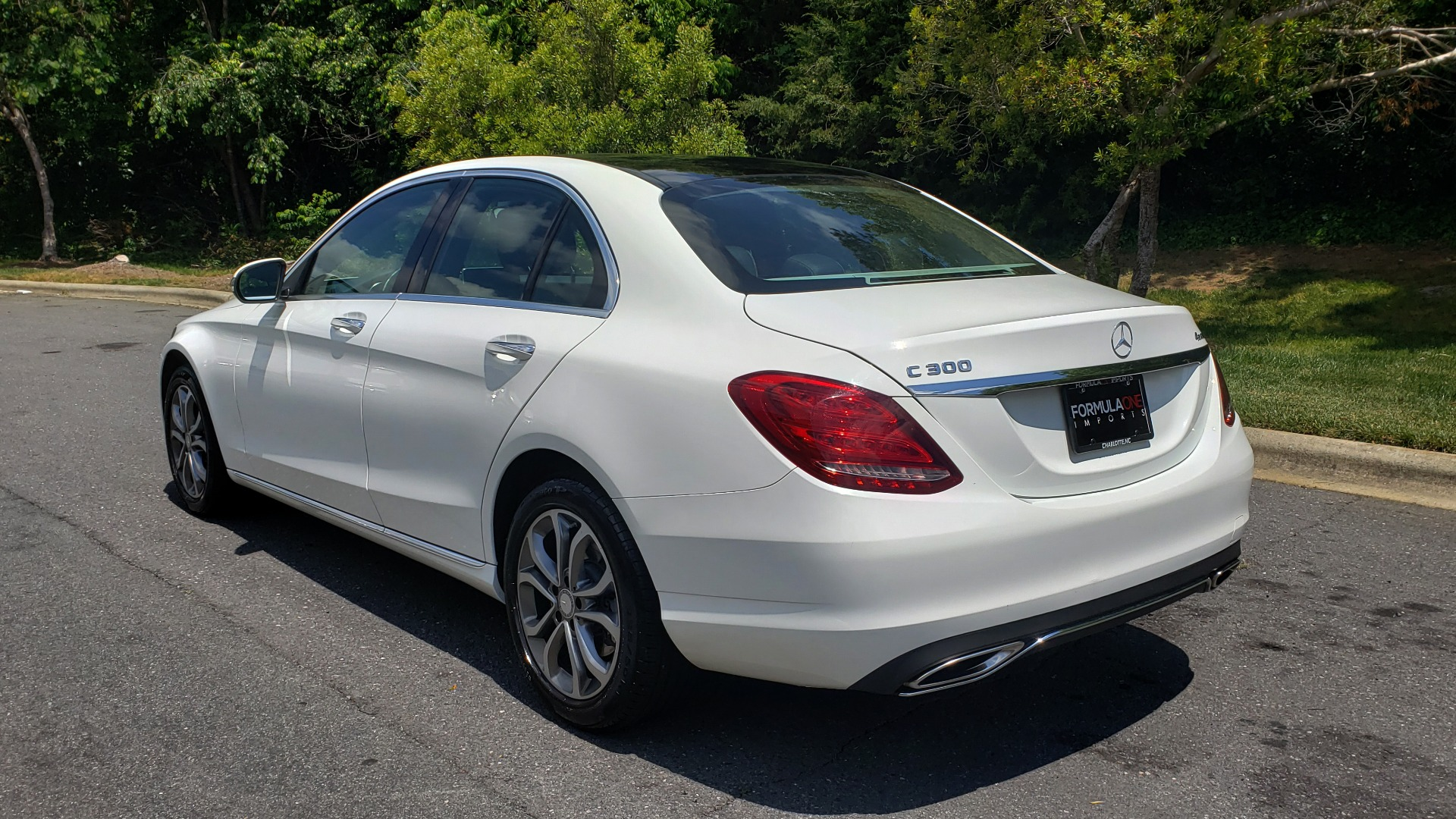 Used 2016 Mercedes-Benz C-CLASS C 300 4MATIC PREMIUM / PANO-ROOF / MULTI MEDIA PKG / REARVIEW for sale Sold at Formula Imports in Charlotte NC 28227 3