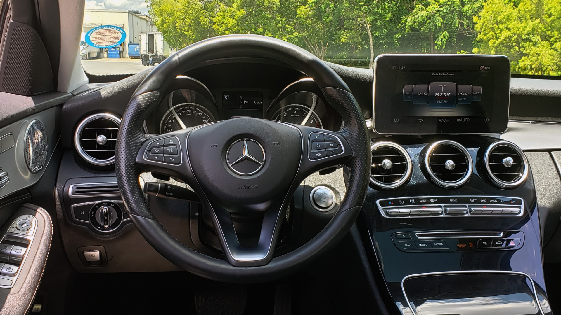 Used 2016 Mercedes-Benz C-CLASS C 300 4MATIC PREMIUM / PANO-ROOF / MULTI MEDIA PKG / REARVIEW for sale Sold at Formula Imports in Charlotte NC 28227 34