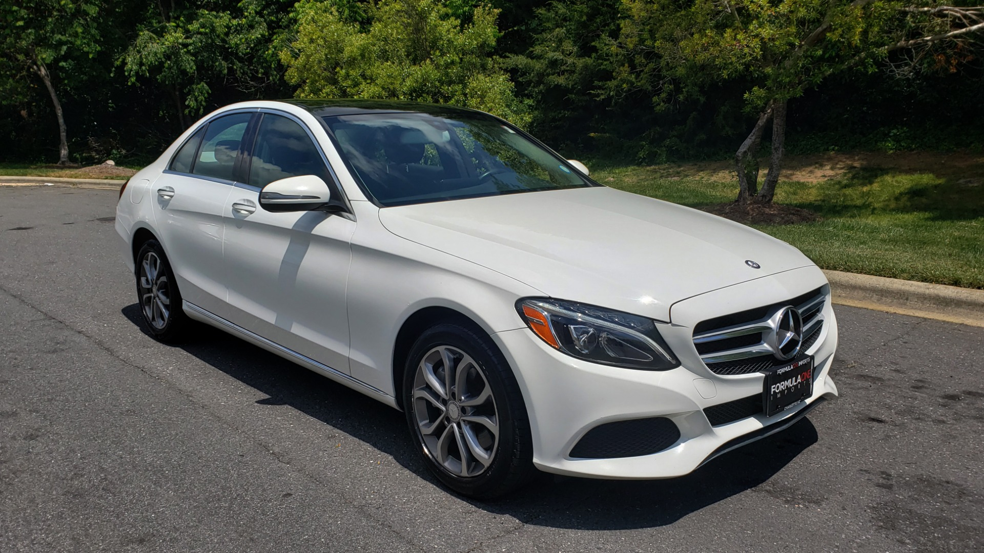 Used 2016 Mercedes-Benz C-CLASS C 300 4MATIC PREMIUM / PANO-ROOF / MULTI MEDIA PKG / REARVIEW for sale Sold at Formula Imports in Charlotte NC 28227 4