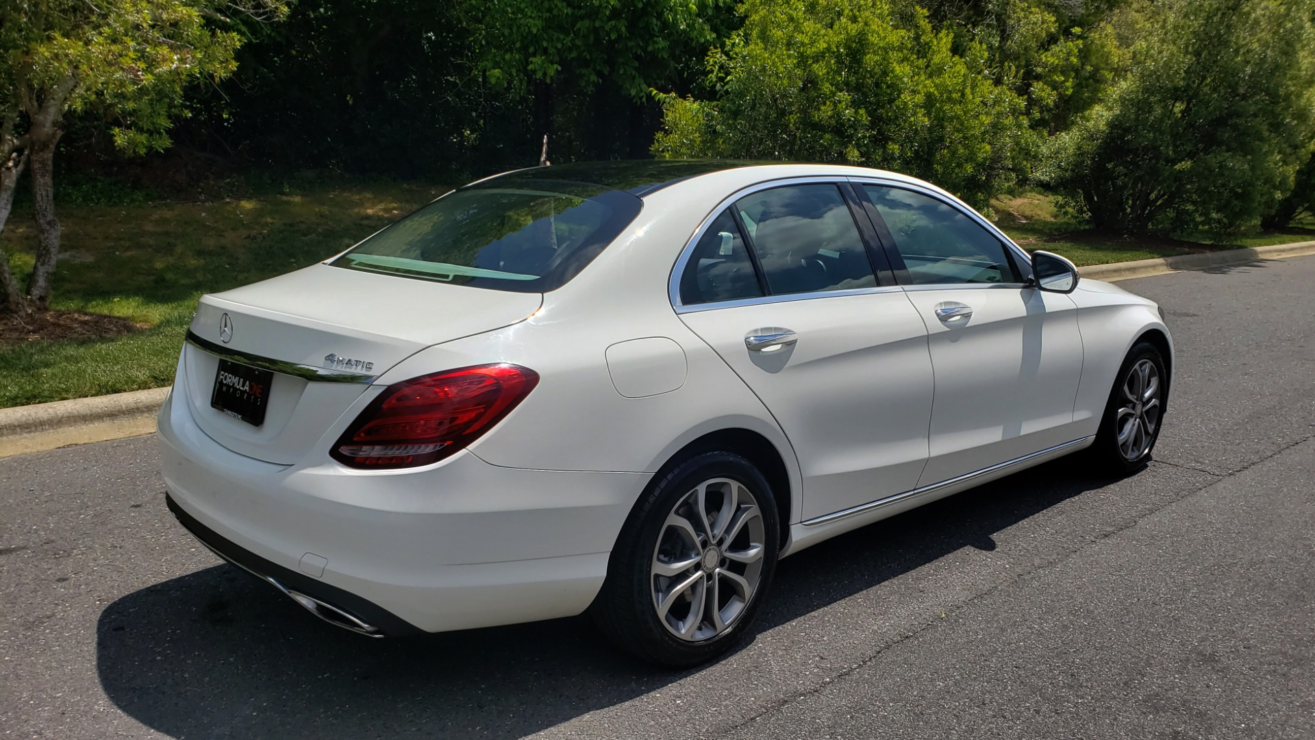 Used 2016 Mercedes-Benz C-CLASS C 300 4MATIC PREMIUM / PANO-ROOF / MULTI MEDIA PKG / REARVIEW for sale Sold at Formula Imports in Charlotte NC 28227 6