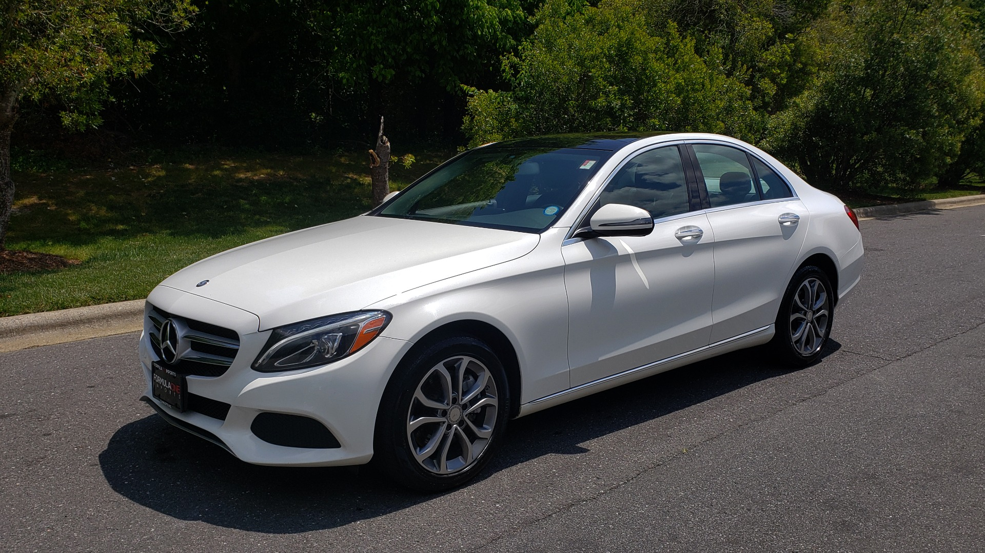 Used 2016 Mercedes-Benz C-CLASS C 300 4MATIC PREMIUM / PANO-ROOF / MULTI MEDIA PKG / REARVIEW for sale Sold at Formula Imports in Charlotte NC 28227 1