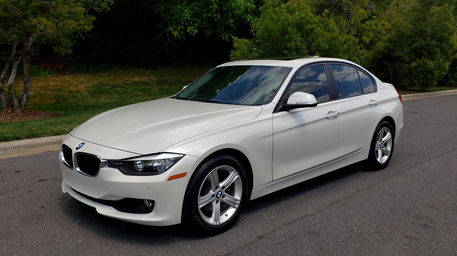 Used 2015 BMW 3 SERIES 328I PREMIUM / NAV / SUNROOF / HTD STS / DRIVER ASST / REARVIEW for sale Sold at Formula Imports in Charlotte NC 28227 1