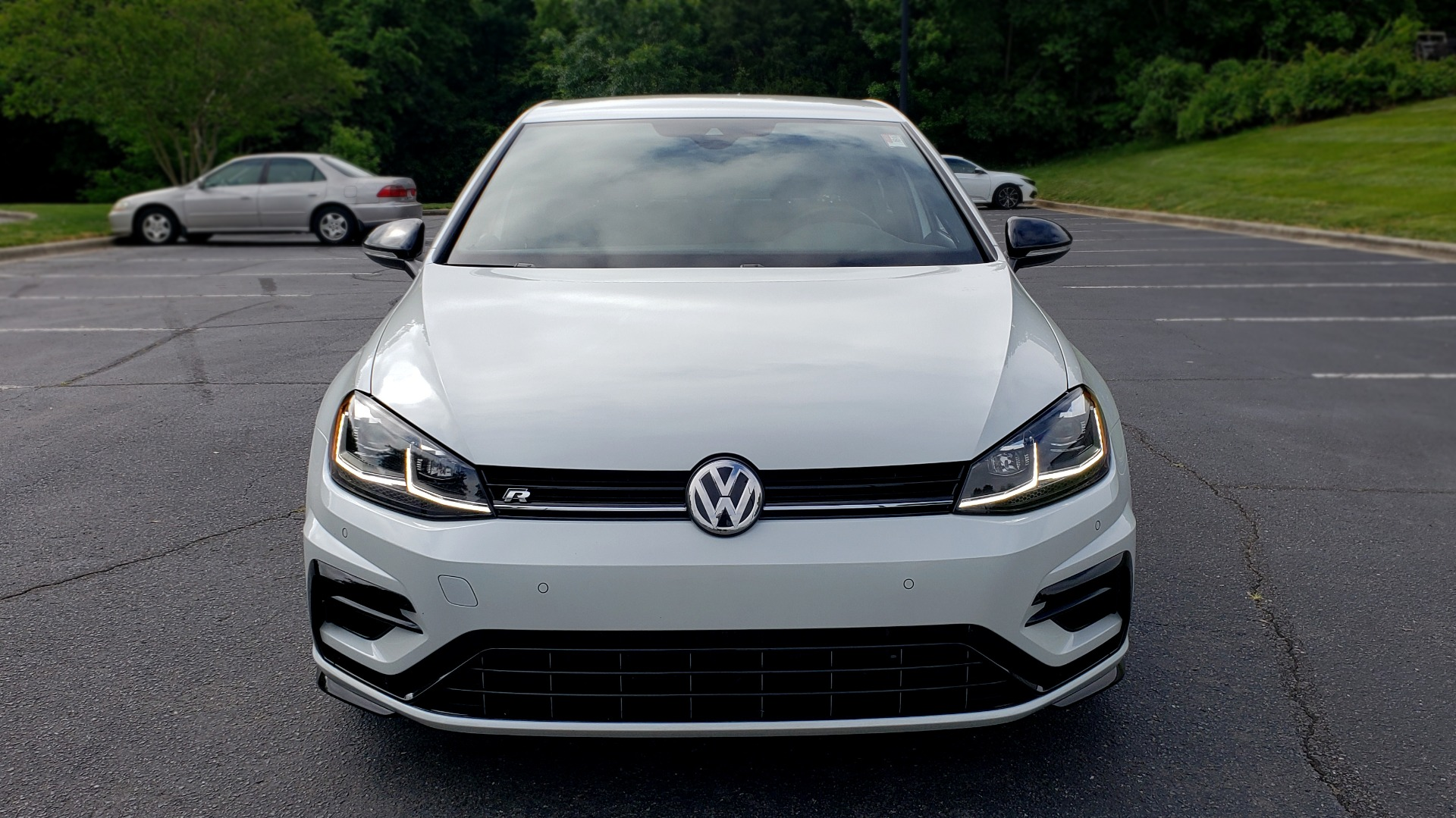 Used 2018 Volkswagen GOLF R 2.0T W/DCC & NAVIGATION / 6-SPD MANUAL / AWD for sale Sold at Formula Imports in Charlotte NC 28227 18