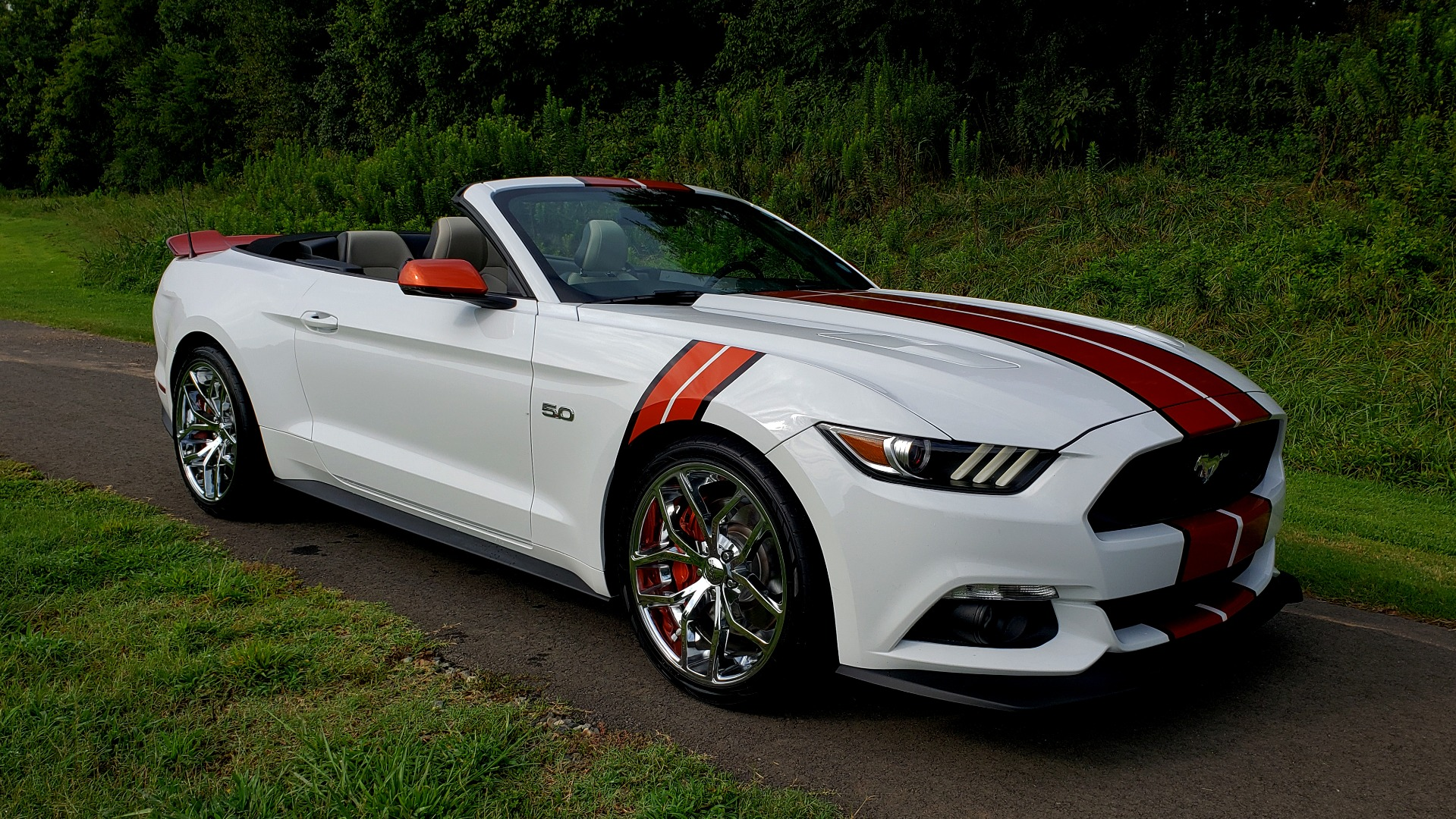 Used 2017 Ford MUSTANG GT PREMIUM CONV / 5.0L V8 / 6-SPD AUTO / NAV / HTD STS / REARVIEW for sale Sold at Formula Imports in Charlotte NC 28227 11