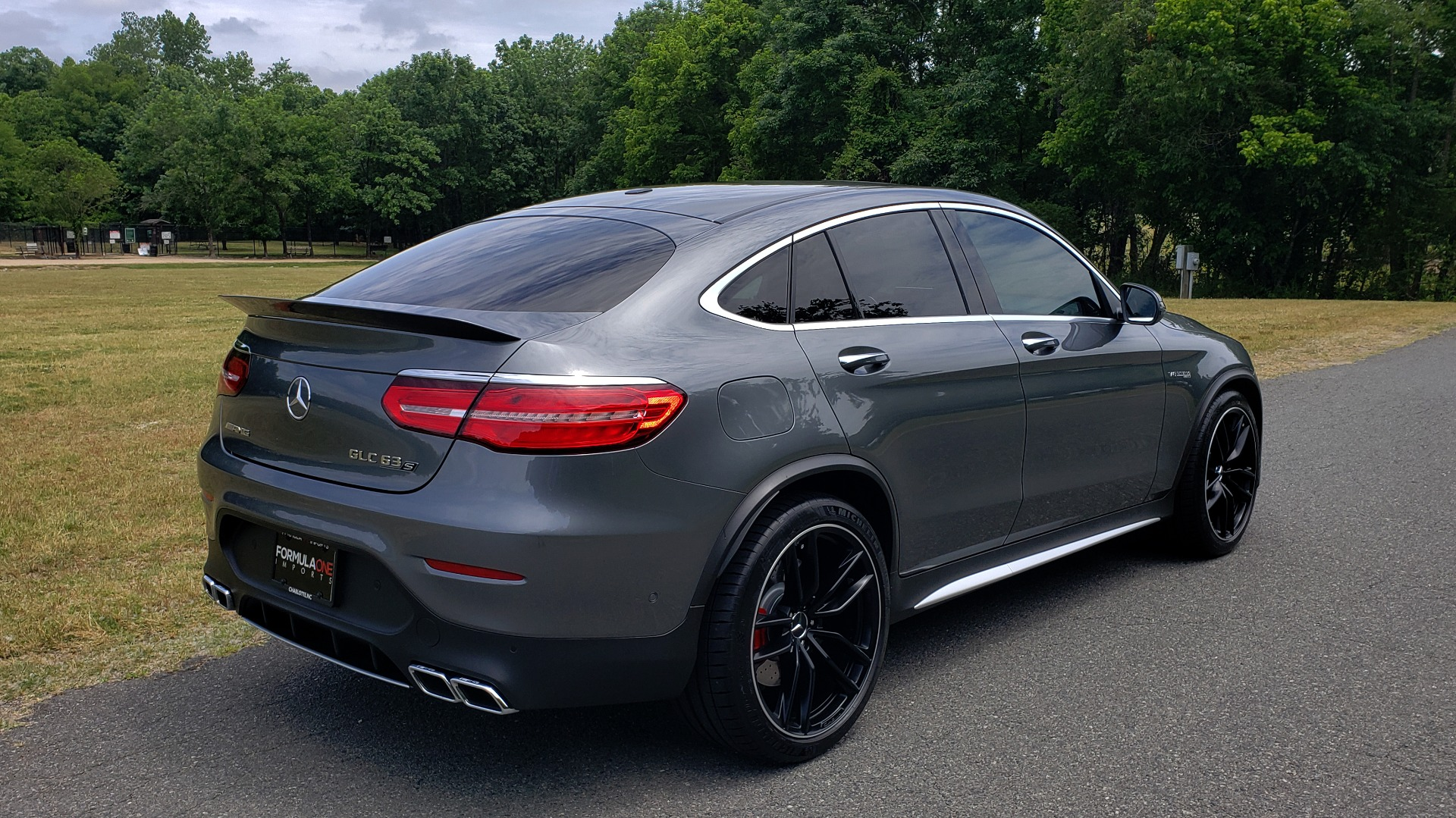 Used 2019 Mercedes-Benz GLC AMG 63 S 4MATIC COUPE / NAV / TRACK PACE APP / AMG PERF EXH / MULTIMEDIA for sale Sold at Formula Imports in Charlotte NC 28227 12