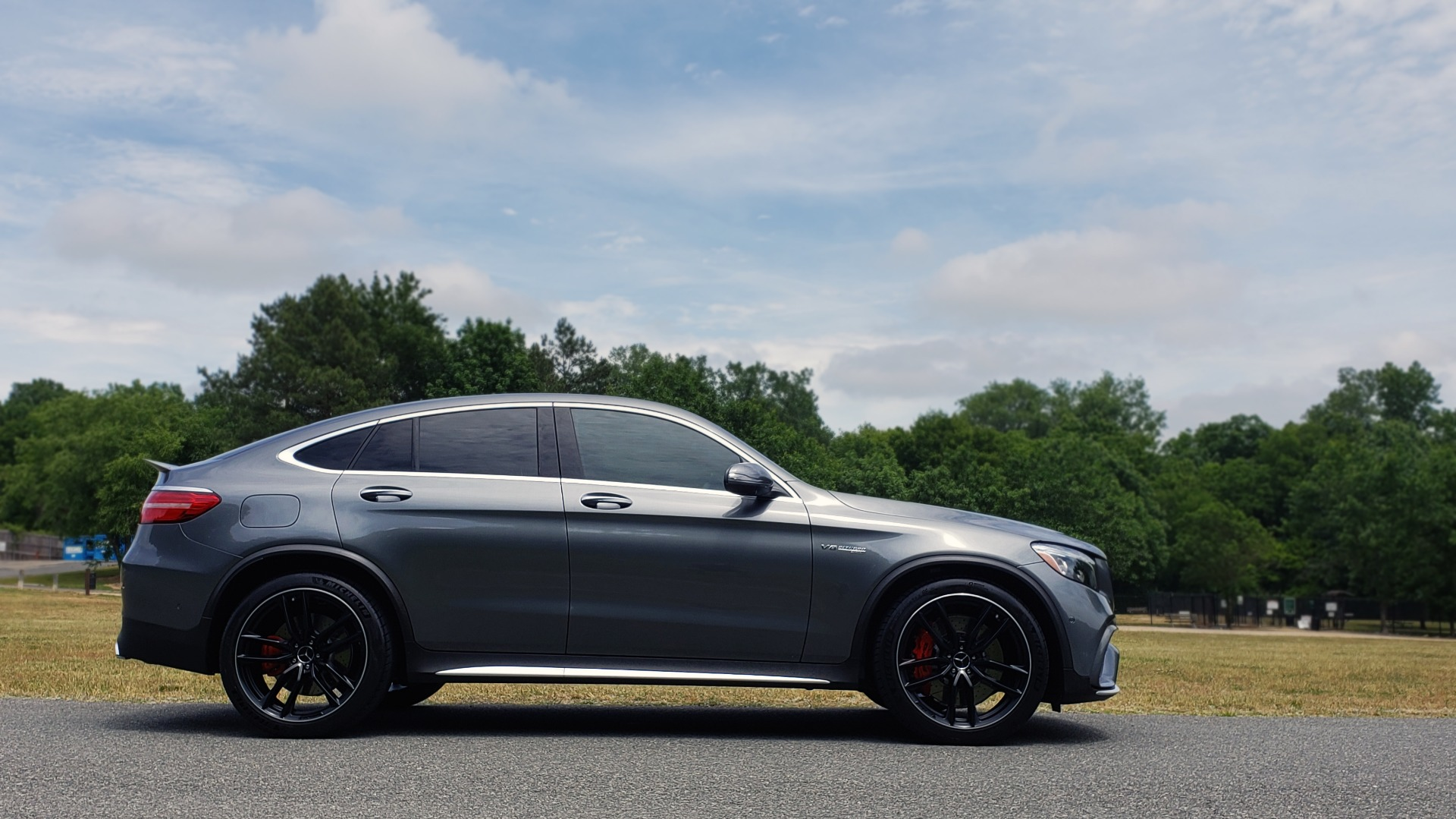 Used 2019 Mercedes-Benz GLC AMG 63 S 4MATIC COUPE / NAV / TRACK PACE APP / AMG PERF EXH / MULTIMEDIA for sale Sold at Formula Imports in Charlotte NC 28227 13