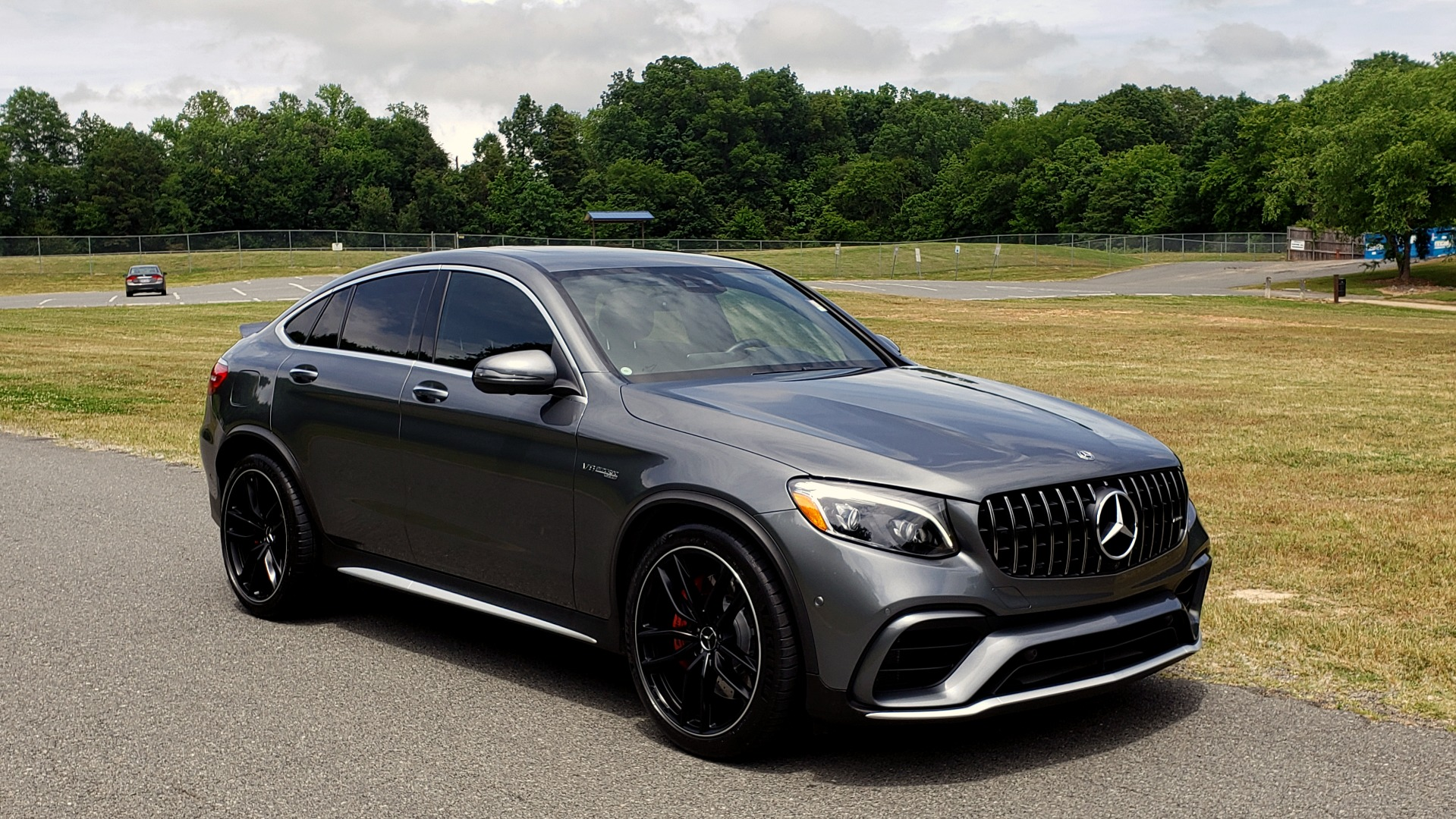 Used 2019 Mercedes-Benz GLC AMG 63 S 4MATIC COUPE / NAV / TRACK PACE APP / AMG PERF EXH / MULTIMEDIA for sale Sold at Formula Imports in Charlotte NC 28227 14