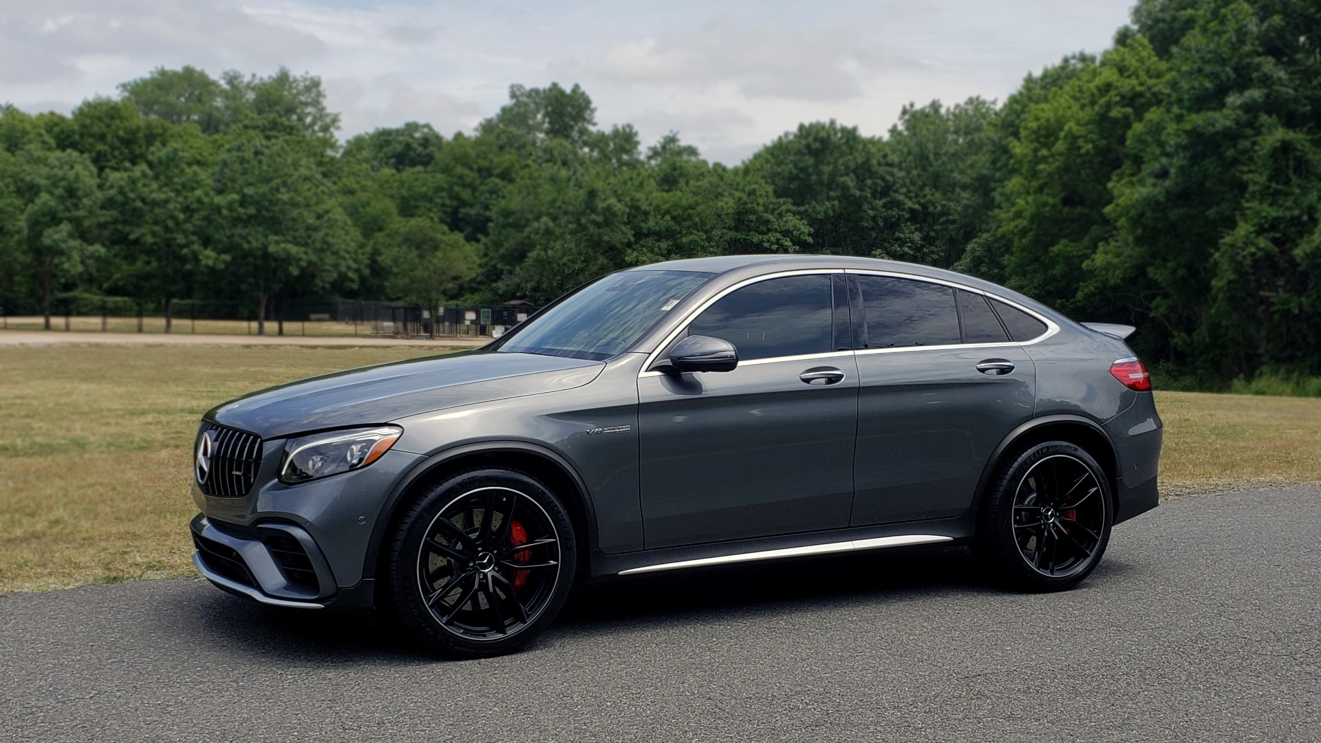 Used 2019 Mercedes-Benz GLC AMG 63 S 4MATIC COUPE / NAV / TRACK PACE APP / AMG PERF EXH / MULTIMEDIA for sale Sold at Formula Imports in Charlotte NC 28227 2