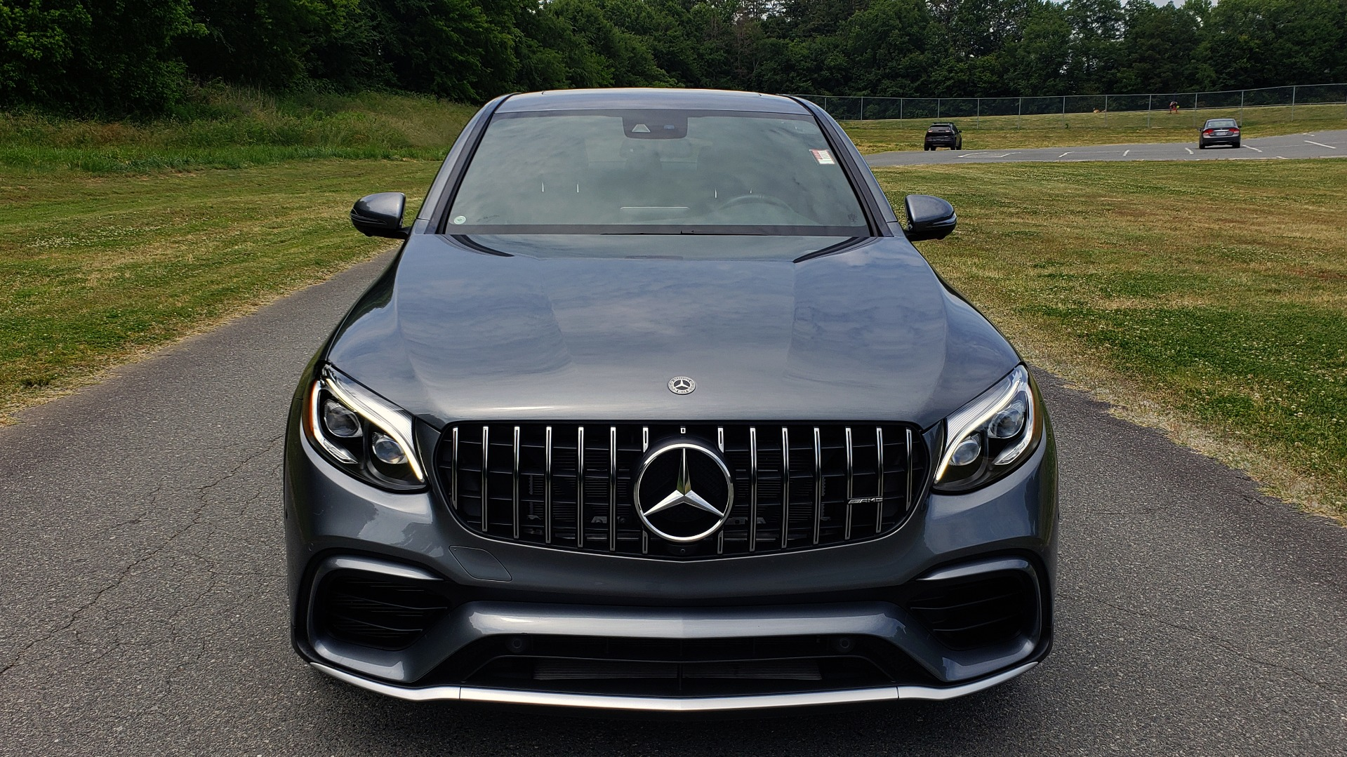 Used 2019 Mercedes-Benz GLC AMG 63 S 4MATIC COUPE / NAV / TRACK PACE APP / AMG PERF EXH / MULTIMEDIA for sale Sold at Formula Imports in Charlotte NC 28227 28