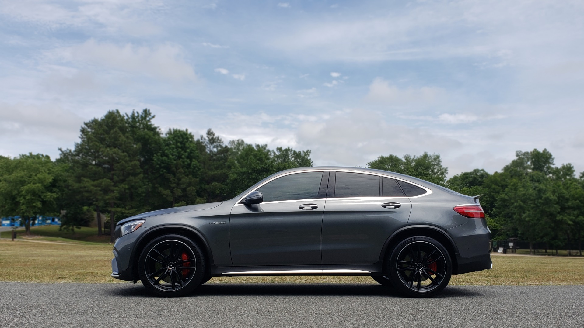 Used 2019 Mercedes-Benz GLC AMG 63 S 4MATIC COUPE / NAV / TRACK PACE APP / AMG PERF EXH / MULTIMEDIA for sale Sold at Formula Imports in Charlotte NC 28227 3