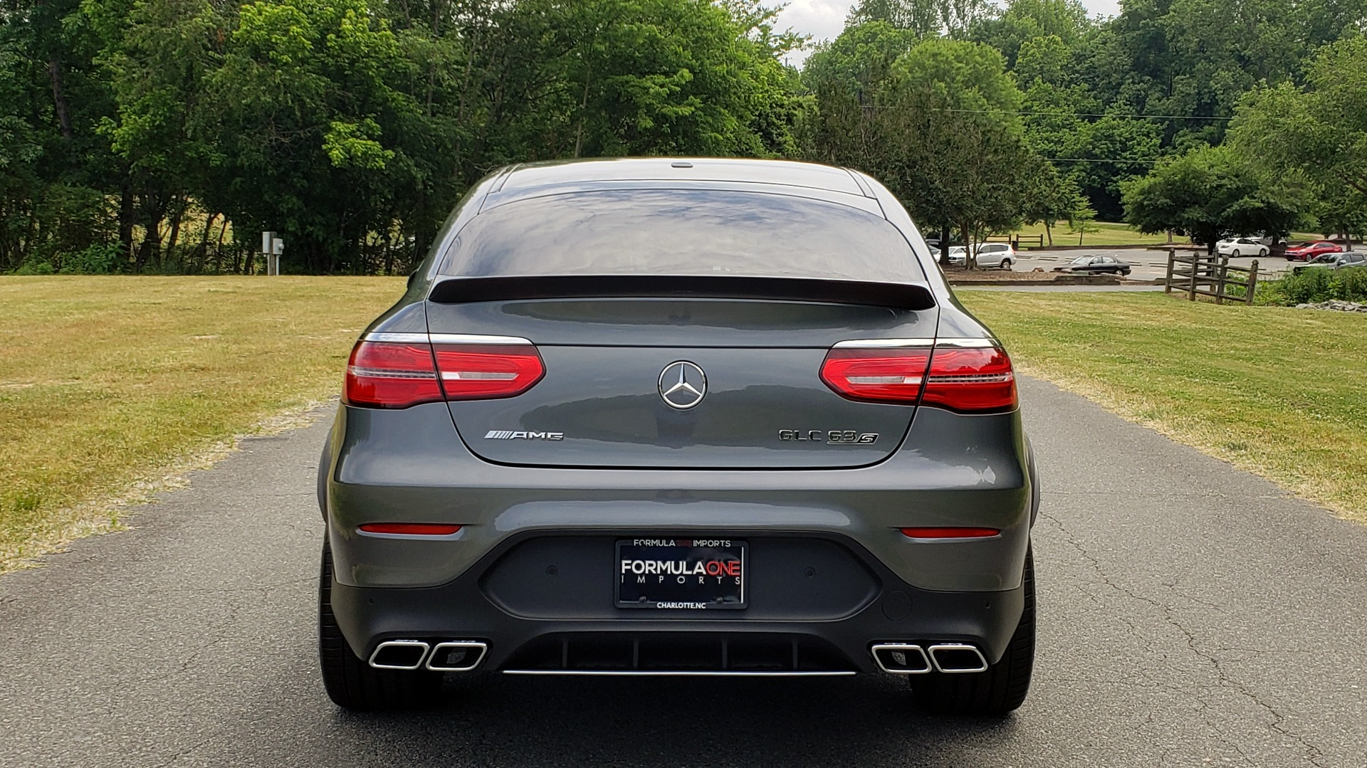 Used 2019 Mercedes-Benz GLC AMG 63 S 4MATIC COUPE / NAV / TRACK PACE APP / AMG PERF EXH / MULTIMEDIA for sale Sold at Formula Imports in Charlotte NC 28227 34