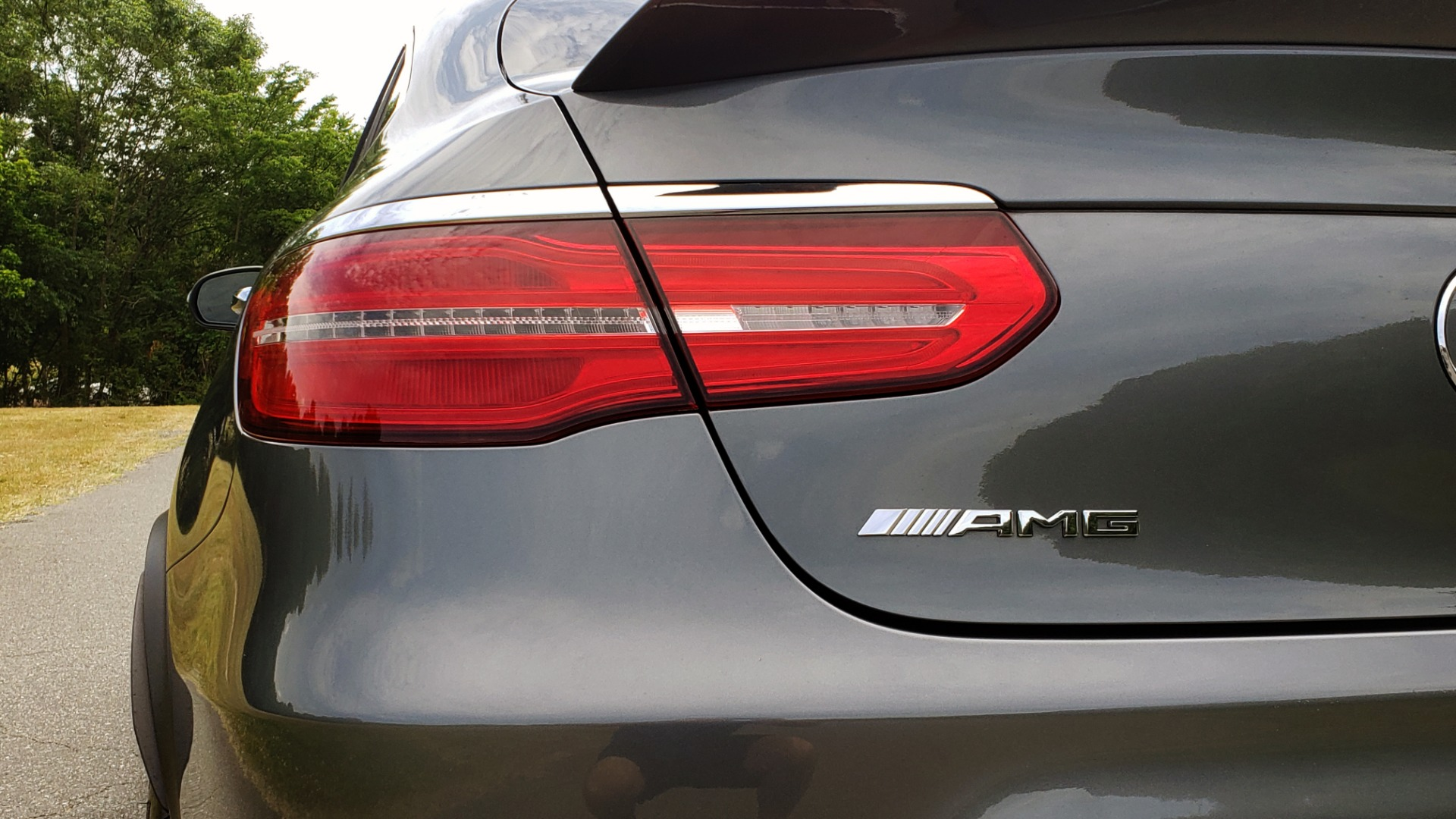 Used 2019 Mercedes-Benz GLC AMG 63 S 4MATIC COUPE / NAV / TRACK PACE APP / AMG PERF EXH / MULTIMEDIA for sale Sold at Formula Imports in Charlotte NC 28227 37