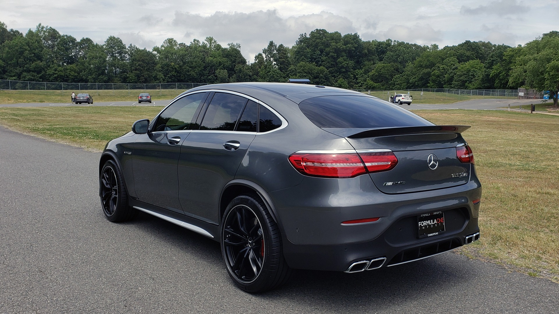 Used 2019 Mercedes-Benz GLC AMG 63 S 4MATIC COUPE / NAV / TRACK PACE APP / AMG PERF EXH / MULTIMEDIA for sale Sold at Formula Imports in Charlotte NC 28227 4