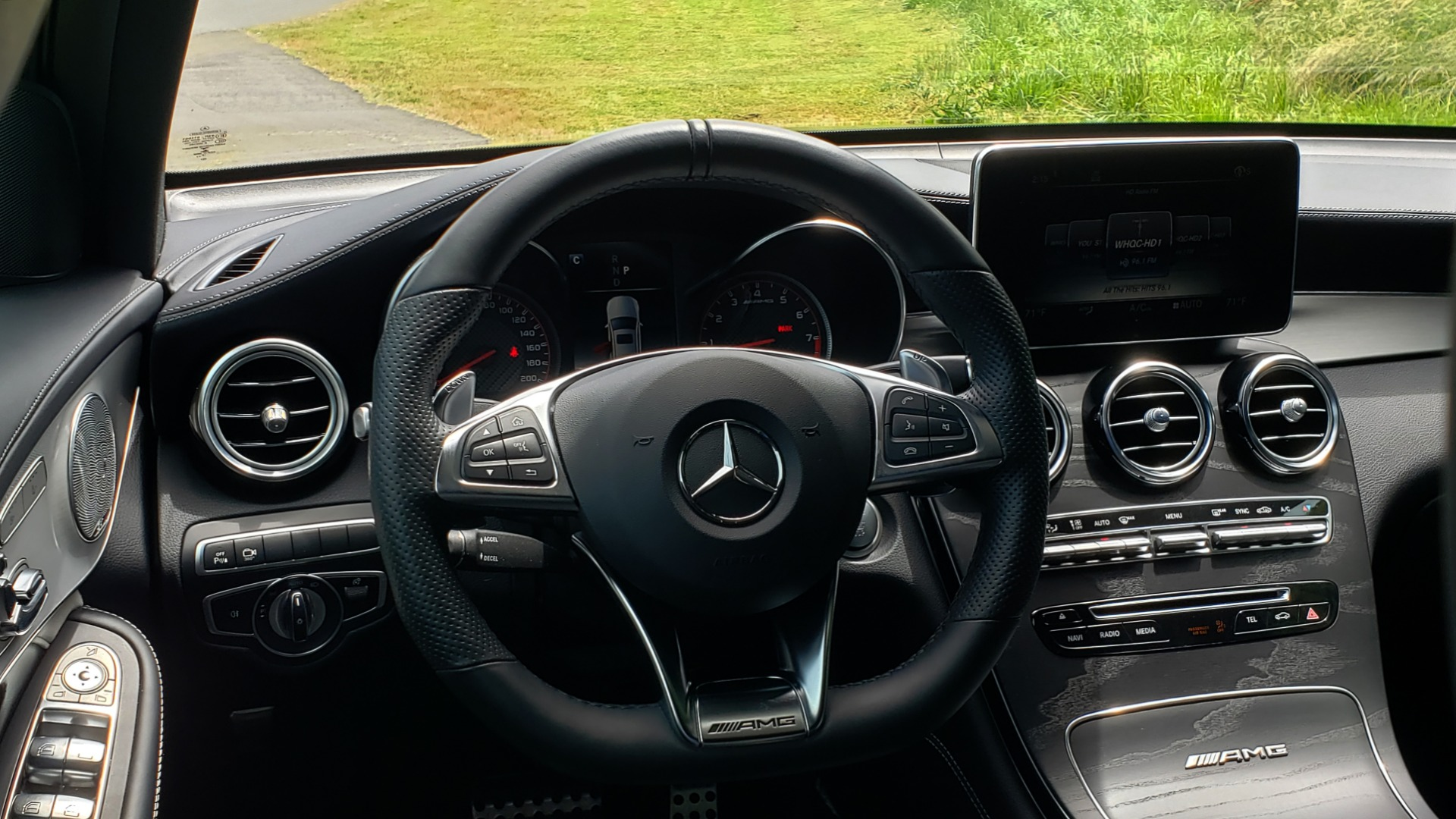 Used 2019 Mercedes-Benz GLC AMG 63 S 4MATIC COUPE / NAV / TRACK PACE APP / AMG PERF EXH / MULTIMEDIA for sale Sold at Formula Imports in Charlotte NC 28227 46