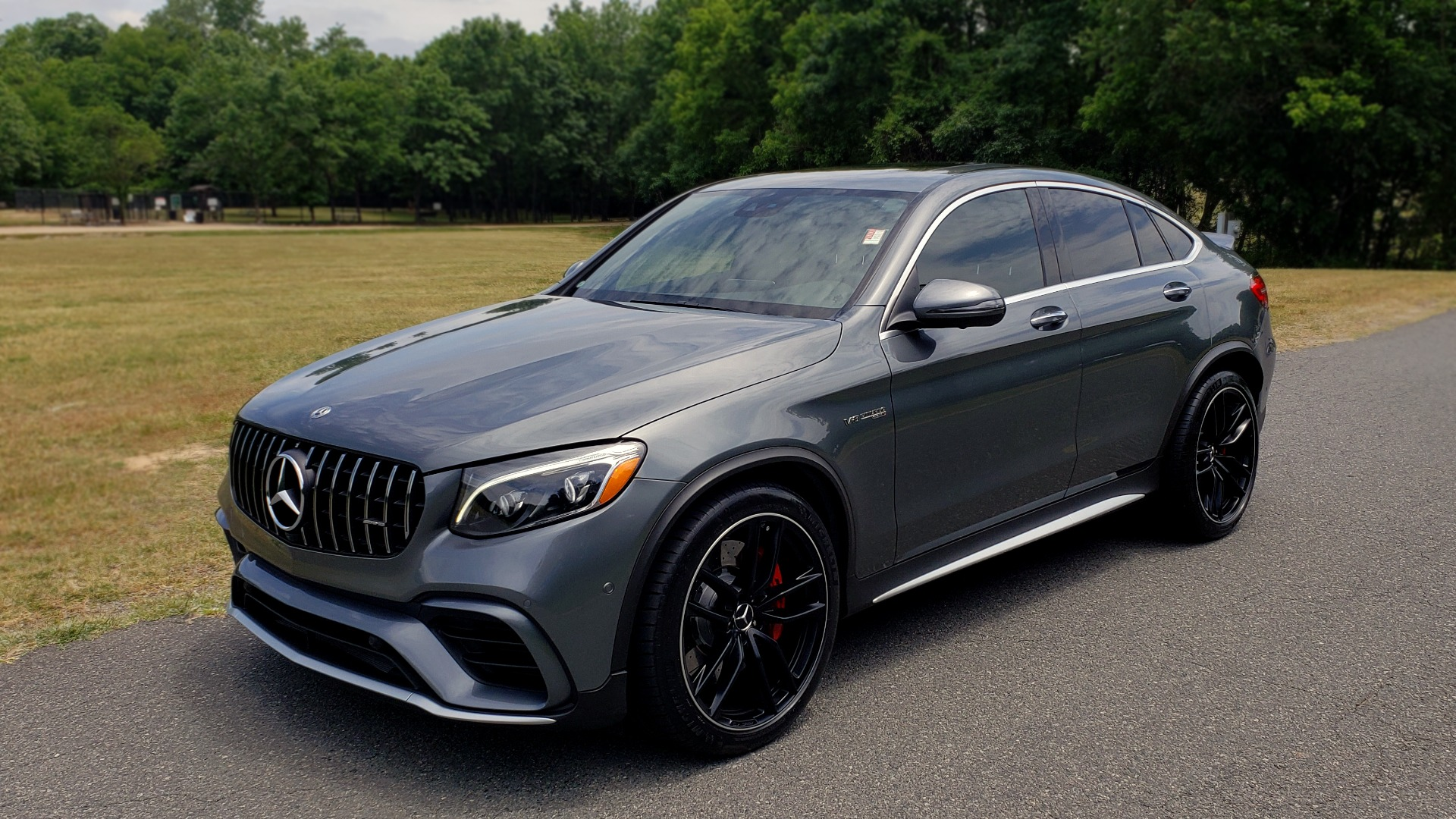Used 2019 Mercedes-Benz GLC AMG 63 S 4MATIC COUPE / NAV / TRACK PACE APP / AMG PERF EXH / MULTIMEDIA for sale Sold at Formula Imports in Charlotte NC 28227 1