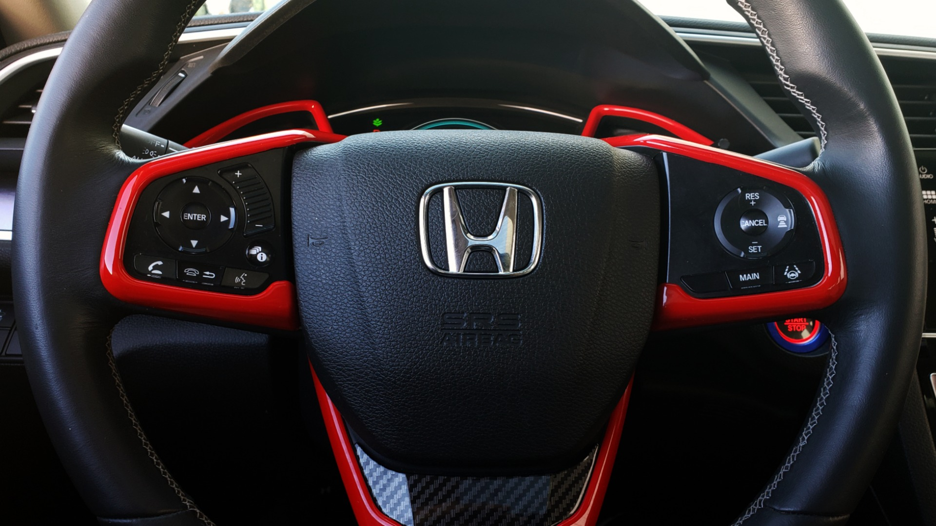Used 2016 Honda CIVIC SEDAN TOURING / NAV / SUNROOF / REARVIEW / HEATED SEATS for sale Sold at Formula Imports in Charlotte NC 28227 35