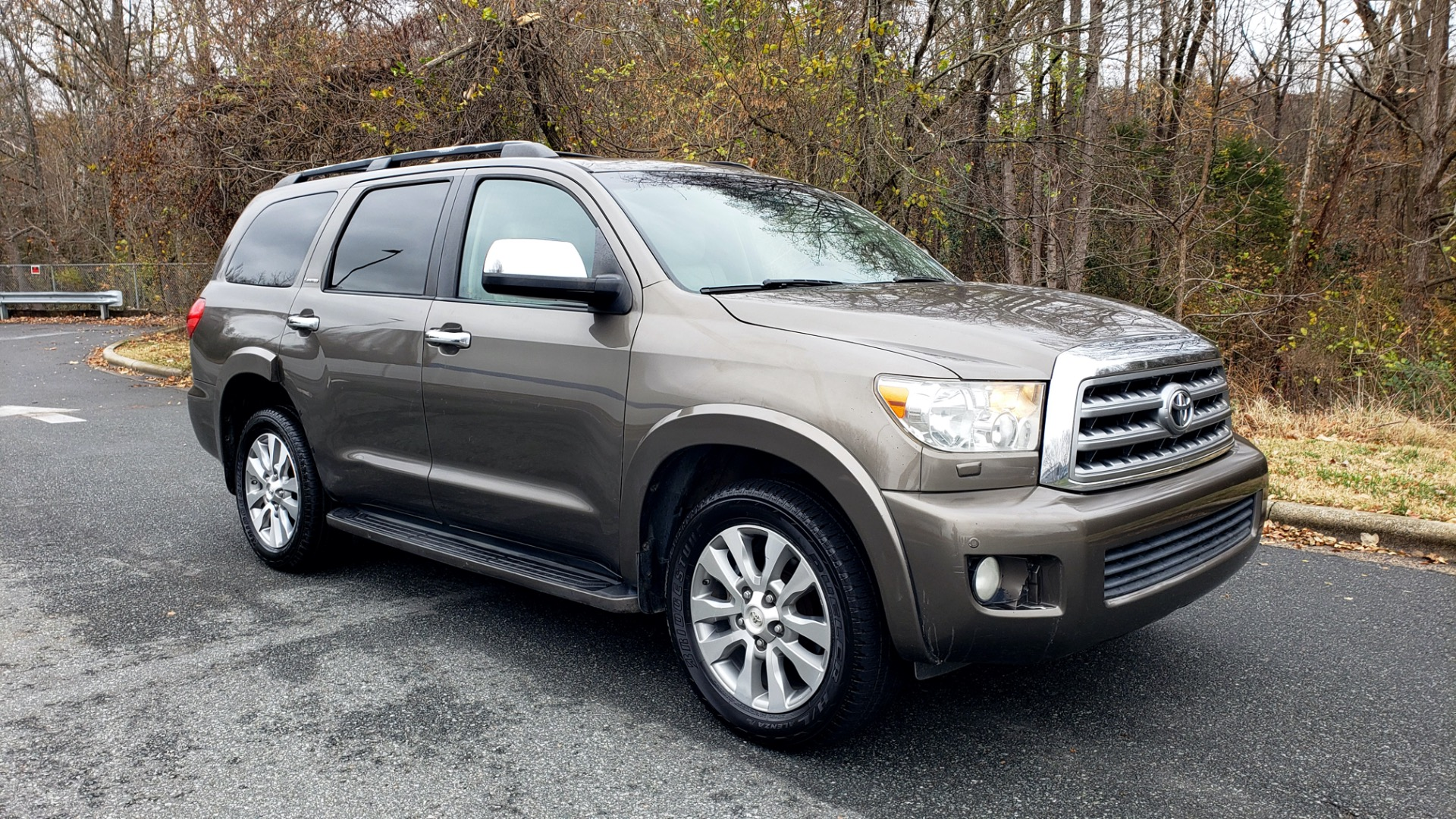Used 2008 Toyota SEQUOIA LIMITED / COLD AREA PKG / SUNROOF / DVD ENTERTAINMENT for sale Sold at Formula Imports in Charlotte NC 28227 11