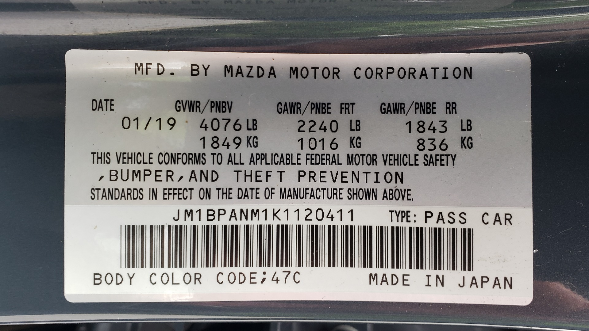 Used 2019 Mazda MAZDA3 HATCHBACK PREMIUM PKG / AUTO / 18IN BLACK ALLOY WHEELS / BOSE / LEATHER for sale Sold at Formula Imports in Charlotte NC 28227 79
