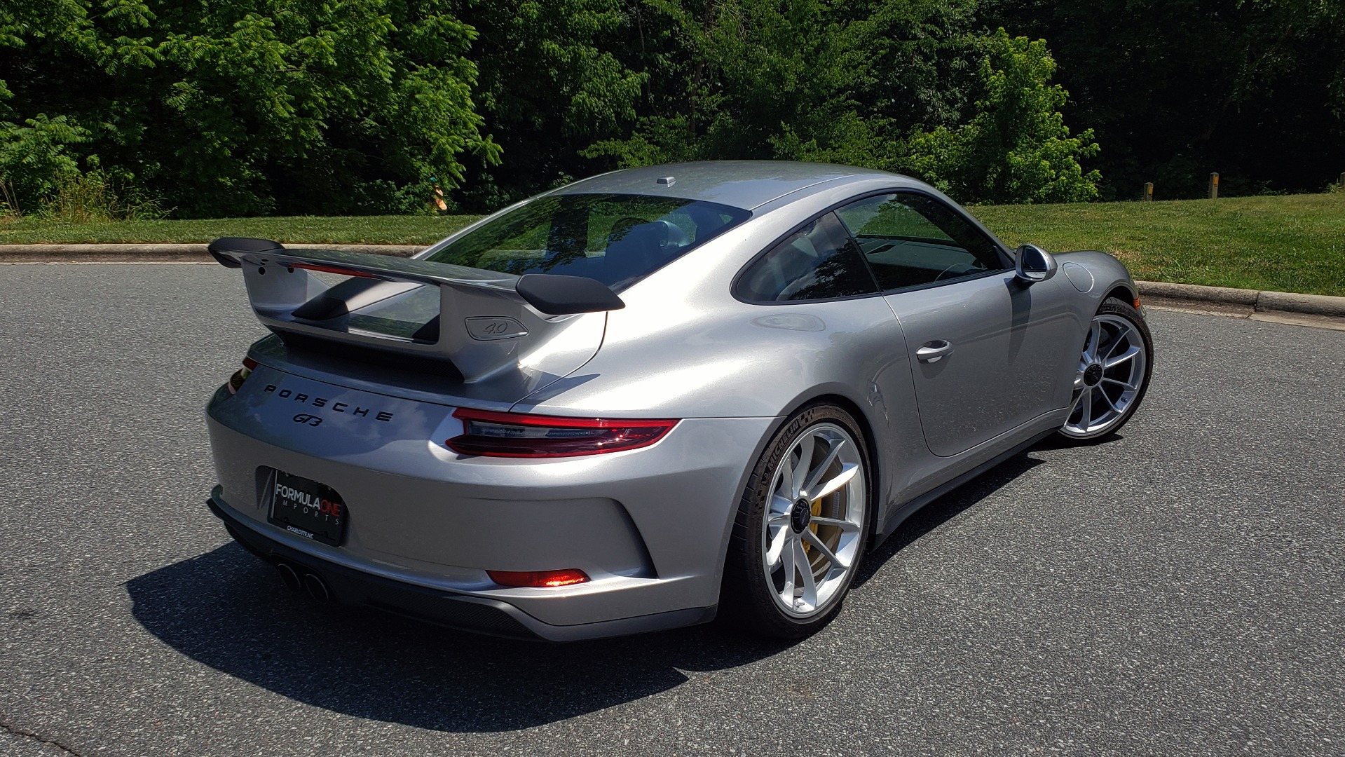 Used 2018 Porsche 911 GT3 4.0L 500HP / 6-SPD MNL / NAV / REARVIEW / PCCB for sale Sold at Formula Imports in Charlotte NC 28227 6
