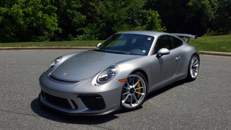 Used 2018 Porsche 911 GT3 4.0L 500HP / 6-SPD MNL / NAV / REARVIEW / PCCB for sale $155,999 at Formula Imports in Charlotte NC
