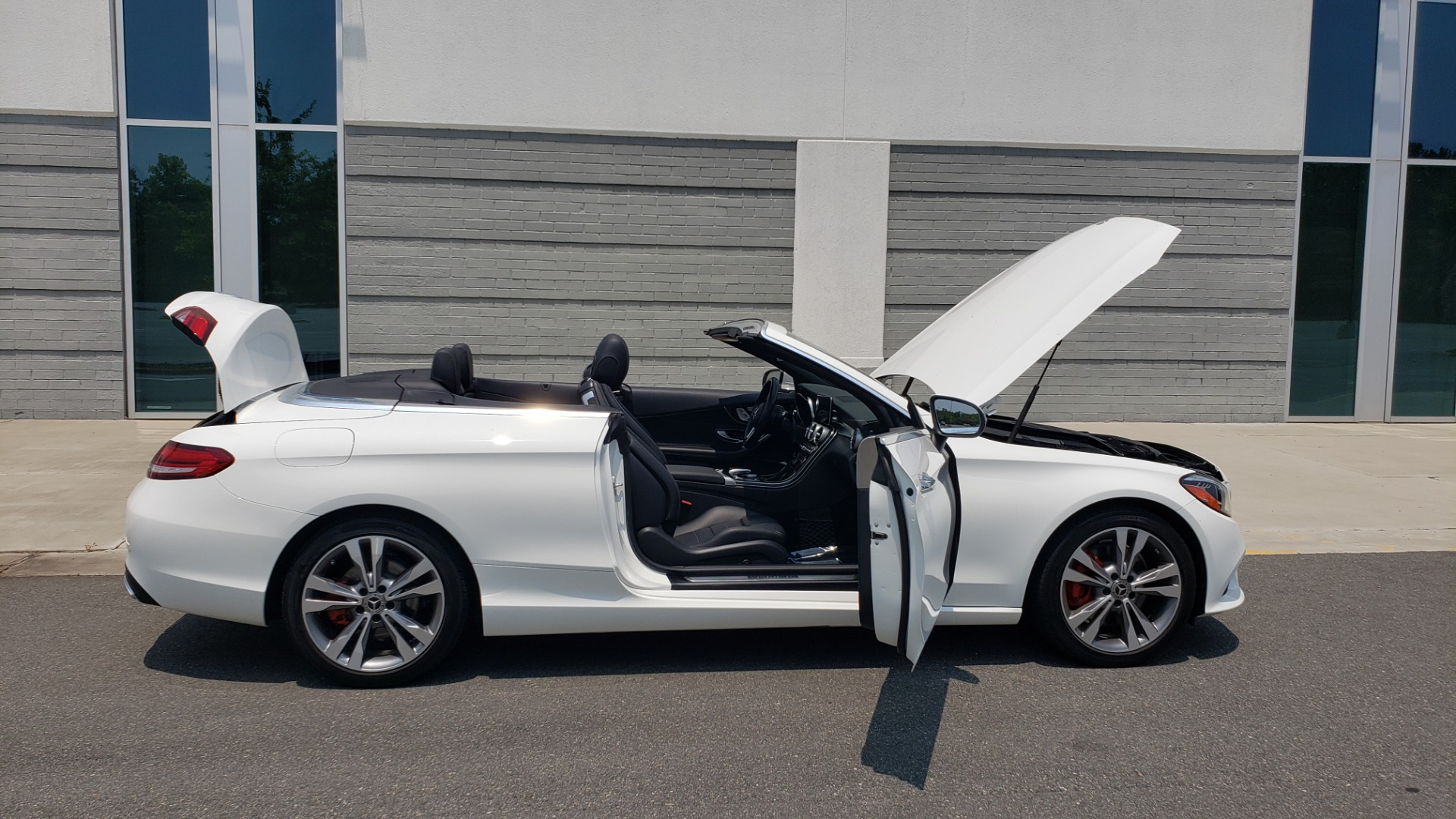 Used 2019 Mercedes-Benz C-CLASS C 300 CABRIOLET 2.0L / AUTO / NAV / HD RADIO / REARVIEW for sale $46,995 at Formula Imports in Charlotte NC 28227 19