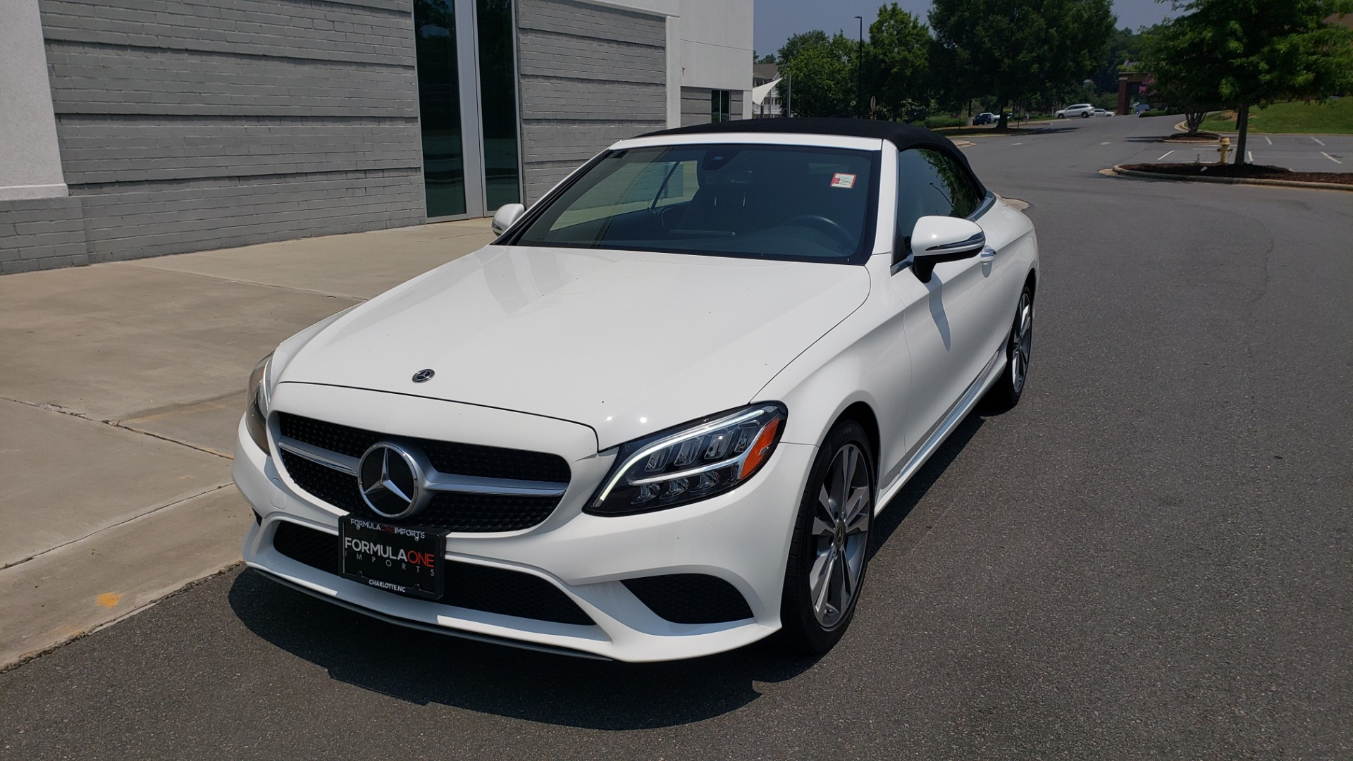 Used 2019 Mercedes-Benz C-CLASS C 300 CABRIOLET 2.0L / AUTO / NAV / HD RADIO / REARVIEW for sale $46,995 at Formula Imports in Charlotte NC 28227 6